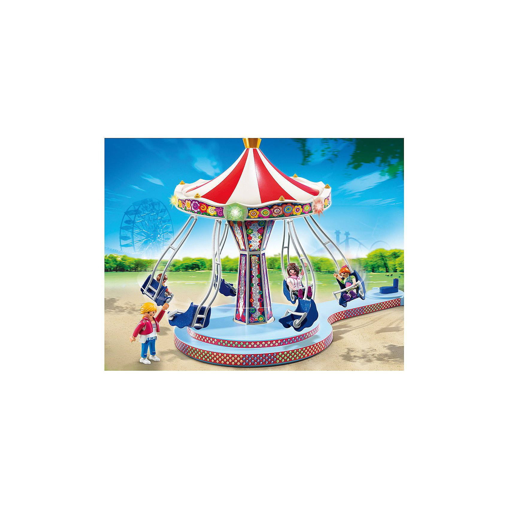 PLAYMOBIL® PLAYMOBIL 5548 Парк Развлечений: Аттракцион Карусель playmobil® playmobil 5546 парк развлечений продавец шаров smileyworld