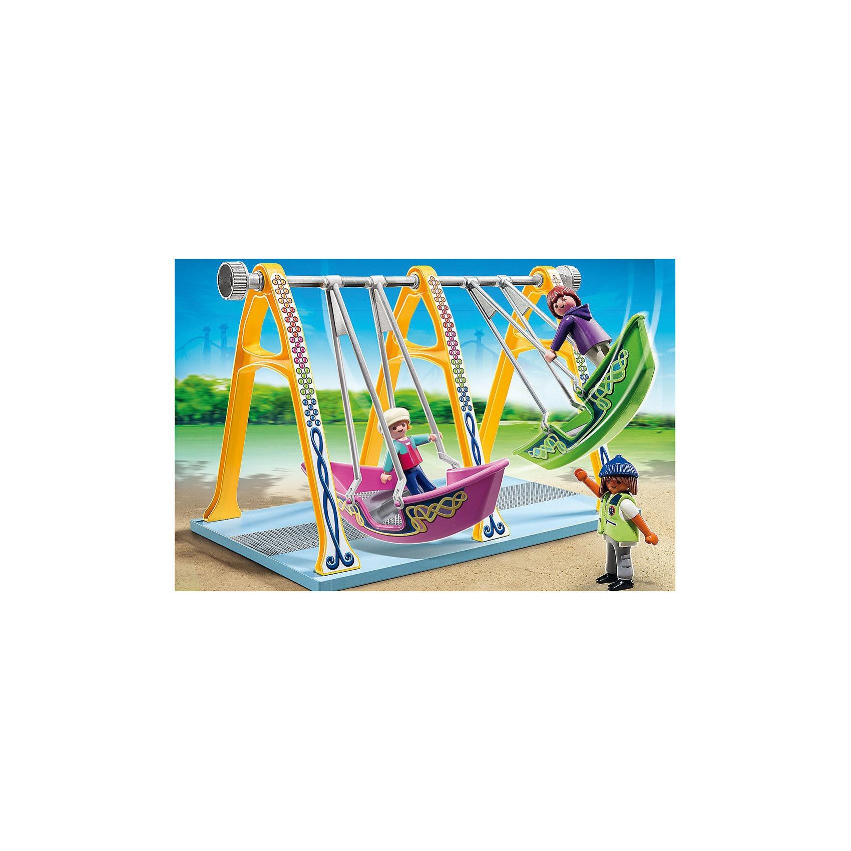 PLAYMOBIL® PLAYMOBIL 5553 Парк Развлечений: Аттракцион Лодка конструкторы playmobil лодка с браконьерами