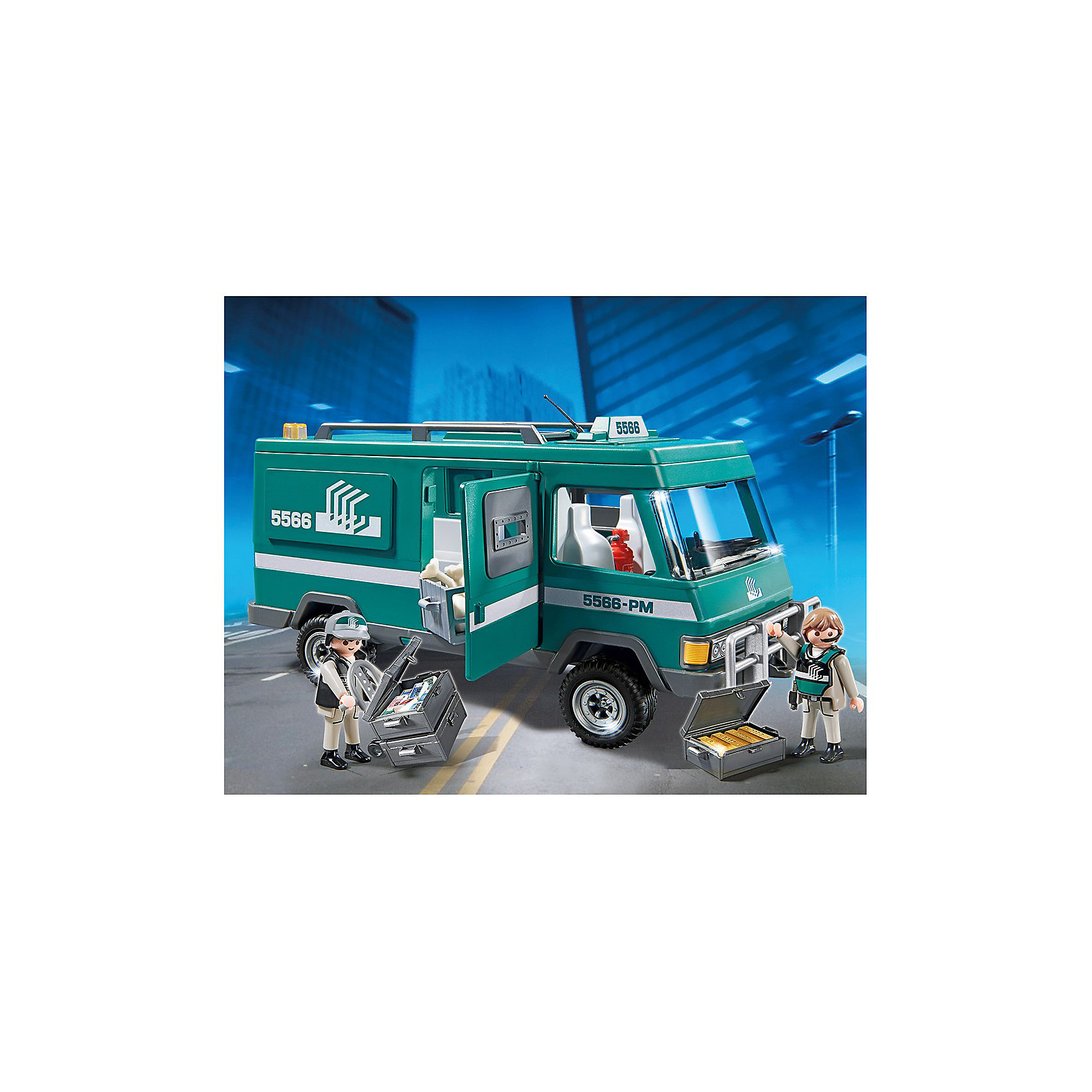 PLAYMOBIL® Инкассаторский автомобиль, PLAYMOBIL купить автомобиль в москве с расходом топлива до 5л 100км