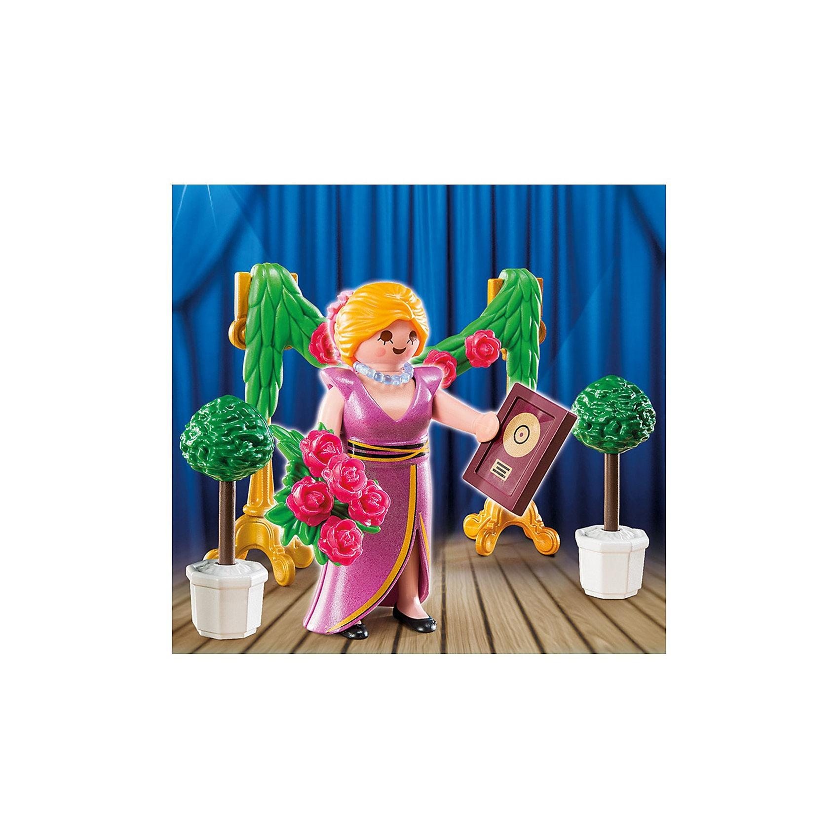 PLAYMOBIL® Экстра-набор: Знаменитость с наградой, PLAYMOBIL playmobil® экстра набор пират и сундук с сокровищами playmobil