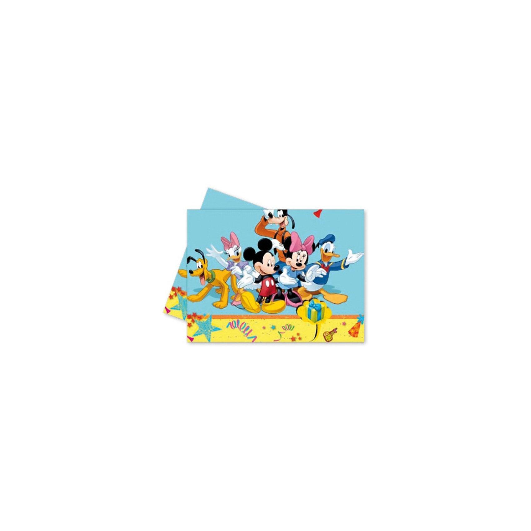 Скатерть «Микки Маус на карнавале», 120×180 см