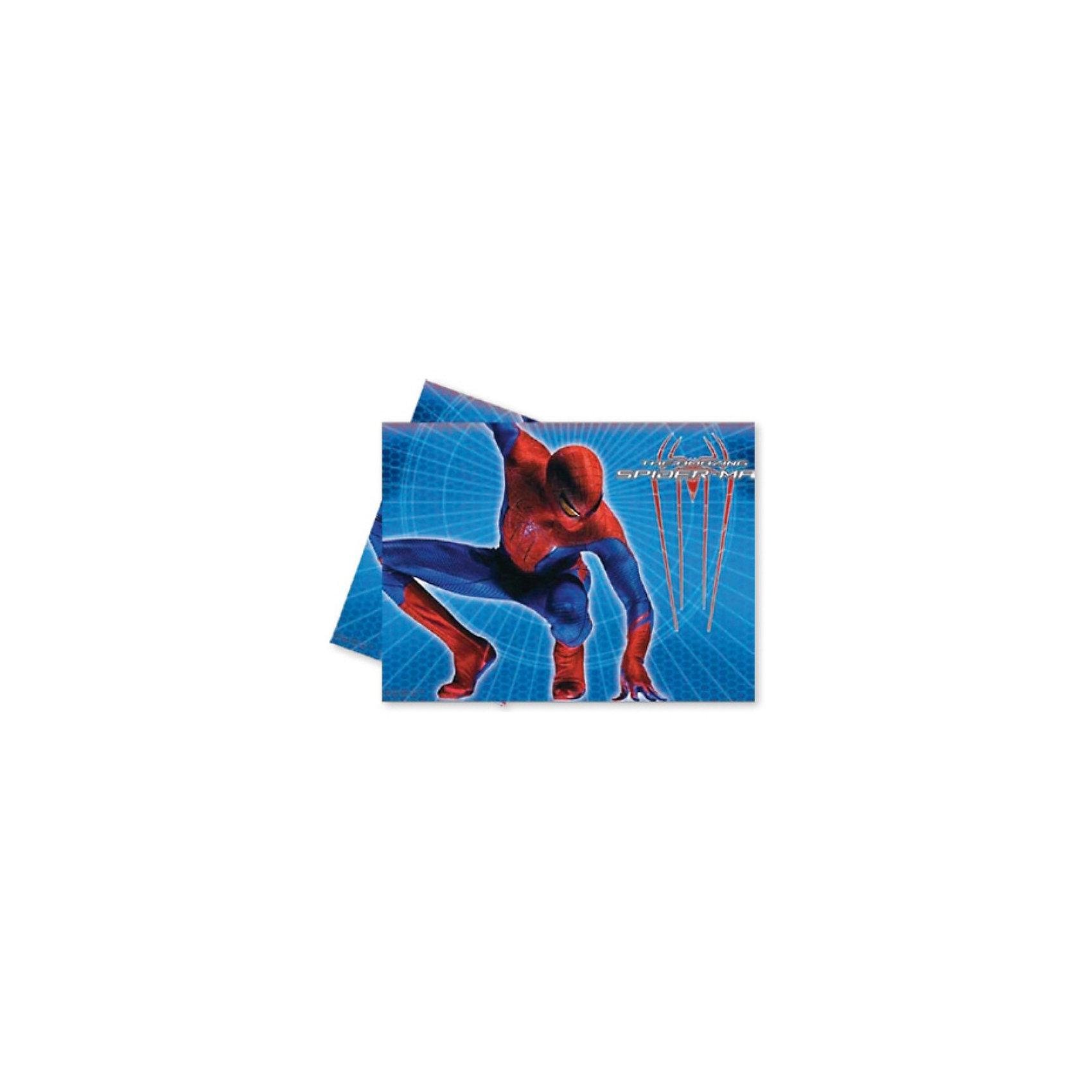 Скатерть Человек-Паук - Невероятный, 120x180 смСкатерть Человек-Паук - Невероятный 120x180 см.<br>Размер скатерти: 120х180 см.  <br>Ярким украшением праздничного стола будет скатерть, выполненная в синих тонах, с изображениями Нового Человека-Паука – главного героя одноименного фильма. Порадуйте детей красивым столом с любимой героиней мультфильма.  <br>Материал скатерти: полиэтилен. В набор входит 1 скатерть с Новым Человеком-Пауком.  <br><br><br>Дополнительная информация:<br><br>Серия: Человек-Паук (Spider-Man)<br>10х200х360 мм<br><br>Поднимет настроение всей компании Вашего малыша!<br>Легко приобрести в нашем интернет-магазине!<br><br>Ширина мм: 10<br>Глубина мм: 200<br>Высота мм: 360<br>Вес г: 112<br>Возраст от месяцев: 36<br>Возраст до месяцев: 84<br>Пол: Мужской<br>Возраст: Детский<br>SKU: 3360095