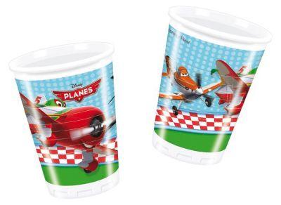 Procos Стаканы пластиковые Самолеты , 180 мл, 8 шт.
