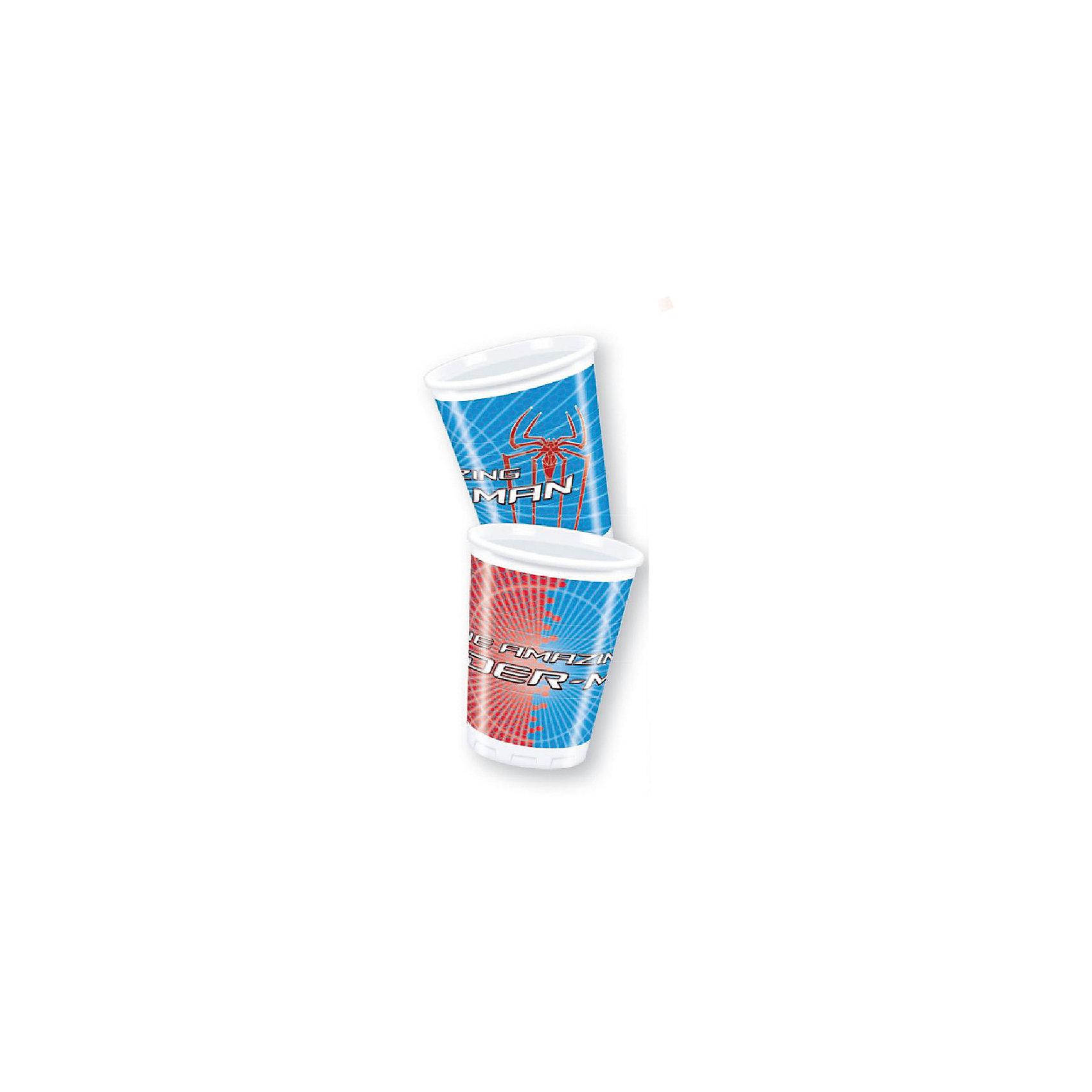 Стаканы пластиковые Человек-Паук - Невероятный, 180 мл, 10 шт.Стаканы пластиковые Человек-Паук - Невероятный 180 мл, 10 шт.<br>Объем стакана: 180 мл. <br>Чтобы любой детский праздник стал гораздо красочнее, интереснее и запомнился надолго, украсьте праздничный стол стаканы с рисунком Нового Человека-Паука. <br>Детские стаканы с логотипом фильма о Новом Человеке-Пауке понравятся всем мальчишкам.  <br>Детские стаканы изготовлены из высококачественных и нетоксичных материалов. <br>В комплекте: 10 штук.<br><br><br>Дополнительная информация:<br>Серия: Человек-Паук (Spider-Man)<br>65х65х110 мм<br><br>Поднимет настроение всей компании Вашего малыша!<br>Легко приобрести в нашем интернет-магазине!<br><br>Ширина мм: 65<br>Глубина мм: 65<br>Высота мм: 110<br>Вес г: 35<br>Возраст от месяцев: 36<br>Возраст до месяцев: 84<br>Пол: Мужской<br>Возраст: Детский<br>SKU: 3360108