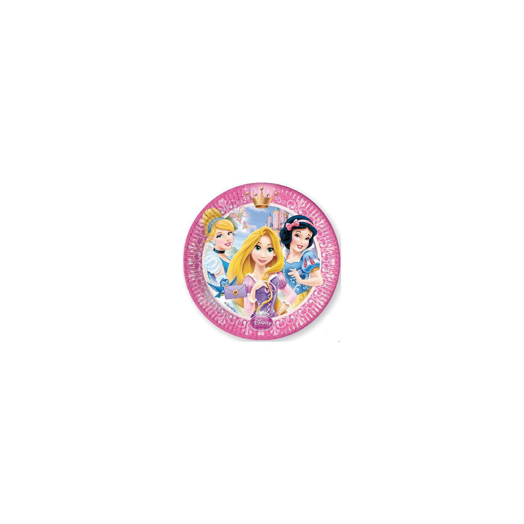 Тарелки Принцессы Дисней - Сказочный мир, 20 см, 8 шт.Тарелки Принцессы Дисней - Сказочный мир 20 см, 8 шт.<br>Принцессы Дисней - Сказочный мир станут отличным дополнением для детского праздника в стиле Disney. Тарелки выполнены из качественных и безопасных материалов, не токсичны и безопасны для здоровья Вашей малышки и ее гостей. <br>Размер: 20 см. <br>Количество: 8 шт. <br>Для детей от 3 лет. <br><br><br>Дополнительная информация:<br><br>200х200х20 мм<br><br>Поднимет настроение всей компании Вашего малыша!<br>Легко приобрести в нашем интернет-магазине!<br><br>Ширина мм: 200<br>Глубина мм: 200<br>Высота мм: 20<br>Вес г: 140<br>Возраст от месяцев: 36<br>Возраст до месяцев: 84<br>Пол: Женский<br>Возраст: Детский<br>SKU: 3360114