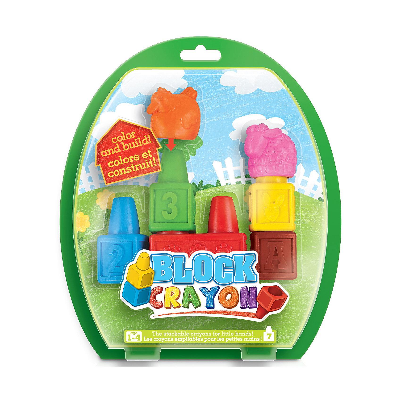 Восковые мелки Ферма, 7 деталей, WookyНабор восковых фигурных мелков Block Crayon Ферма - это веселый и необычный набор, развивающий воображение, моторику и цветовое восприятие! Составные мелки для маленьких ручек!<br><br>В набор входит 7 скульптурных мелков.<br><br>Ширина мм: 180<br>Глубина мм: 200<br>Высота мм: 40<br>Вес г: 170<br>Возраст от месяцев: 18<br>Возраст до месяцев: 36<br>Пол: Унисекс<br>Возраст: Детский<br>SKU: 3360273