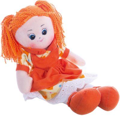 Кукла в платье с сердечками Апельсинка , 40 см, Gulliver