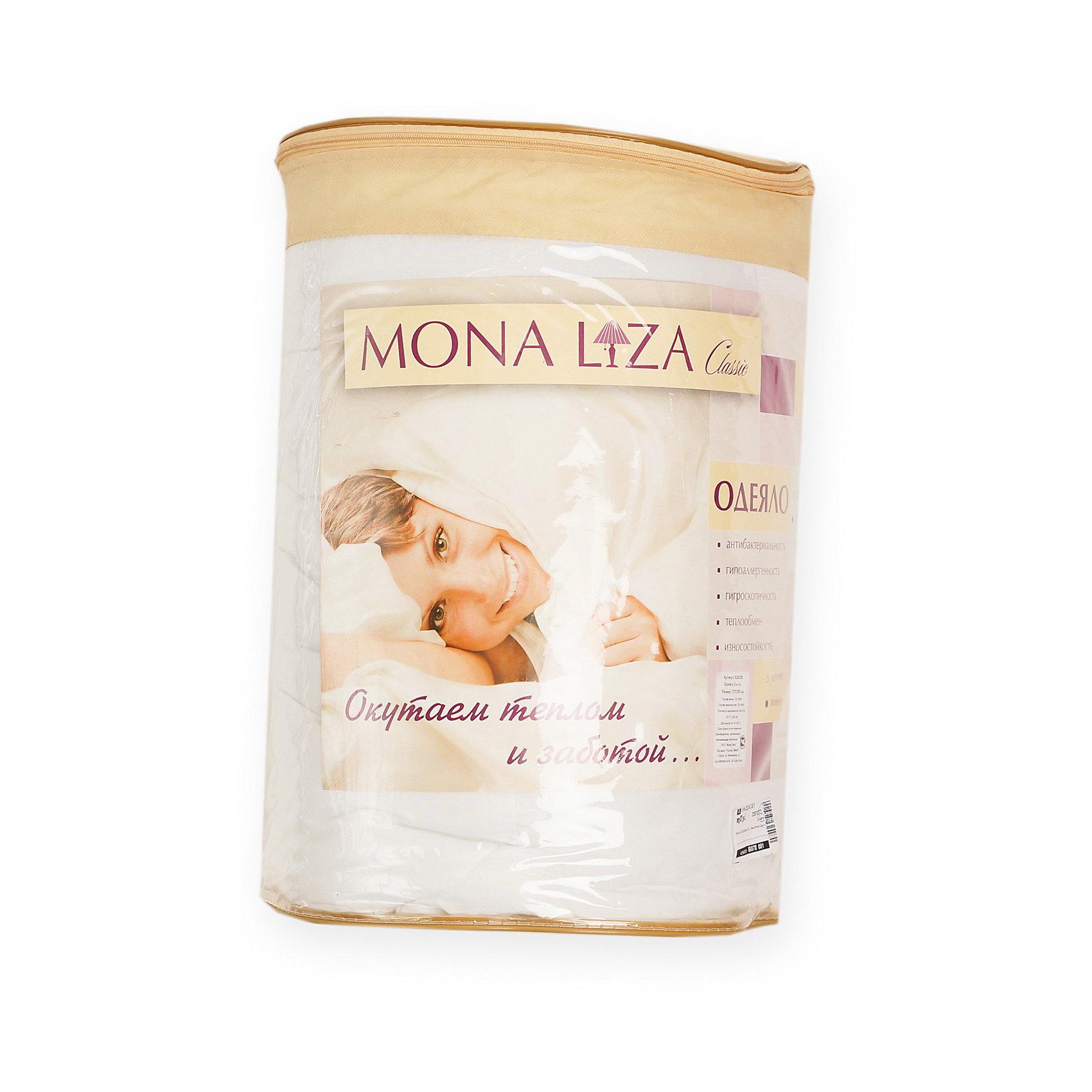 Одеяло зимнее 2-сп, 172*205 см (гипоаллергенное микроволокно), Mona LizaДомашний текстиль<br>Воздушное и мягкое одеяло Classic Зима Mona-Liza (Мона лиза) с наполнителем из высокосиликонизированного микроволокна подарят спокойный и крепкий сон. Благодаря современному наполнителю одеяло хорошо держит форму и легко восстанавливается после сминания. Одеяло можно стирать, оно быстро сохнет. <br>Одеяло обладает гипоаллергенными и антибактериальными свойствами. В нем не заводятся паразиты. В качестве ткани верха использован микрошелк.<br><br>Дополнительная информация:<br><br>- одеяло зимнее<br>- размеры: 172 х 205 см<br>- ткань чехла: микрошелк <br>- наполнитель: микроволокно<br><br>Одеяло 2 сп. Зима Mona-Liza (Мона-Лиза) можно купить в нашем магазине.<br><br>Ширина мм: 400<br>Глубина мм: 650<br>Высота мм: 400<br>Вес г: 1500<br>Возраст от месяцев: -2147483648<br>Возраст до месяцев: 2147483647<br>Пол: Женский<br>Возраст: Детский<br>SKU: 3361277
