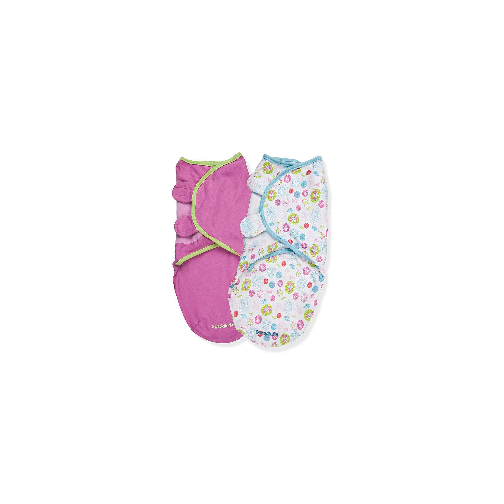 Конверт для пеленания SWADDLEME, р-р S/M, 3-6 кг, 2 шт., фантазияКонверт для пеленания Summer Infant.<br>Пеленание успокаивает новорожденных путем воссоздания знакомых ему чувств, как в утробе мамы. <br>Мягко облегая, конверт не ограничивает движение ребенка, и в тоже время помогает снизить рефлекс внезапного вздрагивания, благодаря этому сон малыша и родителей будет более крепким.<br>Регулируемые крылья для закрытия конверта сделаны таким образом, что даже самый активный ребенок не сможет распеленаться во время сна.<br>Объятия крыльев регулируются по мере роста ребенка.<br>Конверт можно открыть в области ног малыша для легкой смены подгузников - нет необходимости разворачивать детские ручки.<br>Рисунок в виде лепестков подходит для малышей обоих полов.<br><br>В комплекте: 2 шт.<br>Размер: S/M, 3-6 кг.<br>Длина конверта: 50-56 см.<br>Материал: 100% хлопок.<br><br>Конверт для пеленания SwaddleMe, S/M, 3-6 кг, 2 шт. можно купить в нашем интернет-магазине.<br><br>Ширина мм: 40<br>Глубина мм: 150<br>Высота мм: 220<br>Вес г: 285<br>Возраст от месяцев: 0<br>Возраст до месяцев: 3<br>Пол: Унисекс<br>Возраст: Детский<br>SKU: 3361786