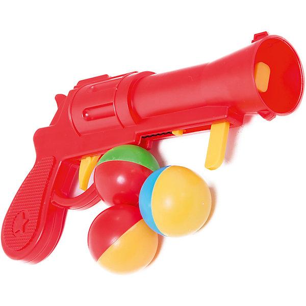 Пистолет пластмассовый с шариками, СтелларИгрушечное оружие<br>Пистолет пластмассовый с шариками, Стеллар (Stellar).<br><br>Детский игрушечный пистолет стреляет на небольшое расстояние крупными яркими шариками, так что их легко можно будет найти. Чтобы выстрелить, нужно взвести пружину и зарядить пистолет шариком. Шарики большого диаметра, поэтому менее травматичны, но все-таки, необходимо соблюдать меры предосторожности во время детских игр!<br><br>Пистолет Стеллар станет прекрасным подарком юному герою!<br><br>Дополнительная информация:<br><br>- В комплекте: пистолет, 3 разноцветных шарика <br>- Длина пистолета 22 см.<br>- Диаметр шариков:  4 см.<br>- Материал: пластмасса<br>- Размер упаковки: 310 х 40 х 150 мм<br>- Вес: 85 г.<br><br>Пистолет пластмассовый с шариками, Стеллар (Stellar) можно купить в нашем интернет-магазине.<br><br>Ширина мм: 310<br>Глубина мм: 40<br>Высота мм: 150<br>Вес г: 85<br>Возраст от месяцев: 36<br>Возраст до месяцев: 72<br>Пол: Мужской<br>Возраст: Детский<br>SKU: 3362093