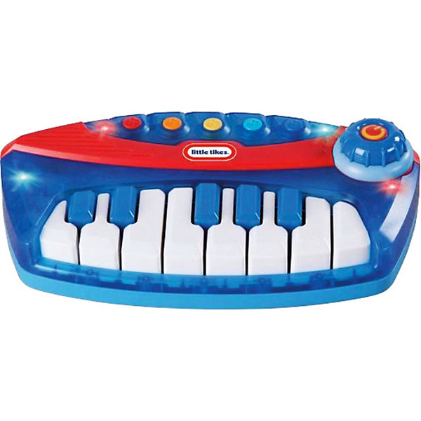Пианино, Little TikesДетские музыкальные инструменты<br>Пианино, Little Tikes - отличная музыкальная игрушка- инструмент, который сможет освоить даже самый маленький ребенок!<br><br>Пианино Литтл Тайкс может проигрывать как записанные в память мелодии (всего 5 предзаписанных мелодий), так и музыку, которую сочинит Ваш малыш. На клавиатуре есть целая нотная октава, и ребенок может почувствовать себя настоящим композитором.  Клавиатура подсвечивается красными и синими огоньками. На корпусе расположены пять ярких разноцветных клавиш, которые очень удобно нажимать маленькими детскими пальчиками. Если юный пианист хорошо осваивает музыкальный  инструмент, то он может воспользоваться возможностью переключения ладов: мажорный и минорный. Способствует развитию у ребенка фантазии, любви к музыке, а также формированию музыкальных наклонностей.<br><br>Дополнительная информация:<br><br>- В комплекте: игрушка-пианино, со светом и звуком.<br>- 5 предзаписанных мелодий.<br>- Возможность переключения ладов (мажор/минор).<br>- Кнопка 2 в 1 (включение/ выключение и контроль). - Регулировка громкости звука. <br>- Питание: требуются 3 батарейки АА. (включены)<br>- Размеры (Д)26 Х (Ш)38 Х7,5(В) см<br>- Вес: 850 г<br><br>Пианино, Little Tikes  можно купить в нашем интернет-магазине.<br><br>Ширина мм: 380<br>Глубина мм: 75<br>Высота мм: 260<br>Вес г: 888<br>Возраст от месяцев: 24<br>Возраст до месяцев: 60<br>Пол: Унисекс<br>Возраст: Детский<br>SKU: 3363005