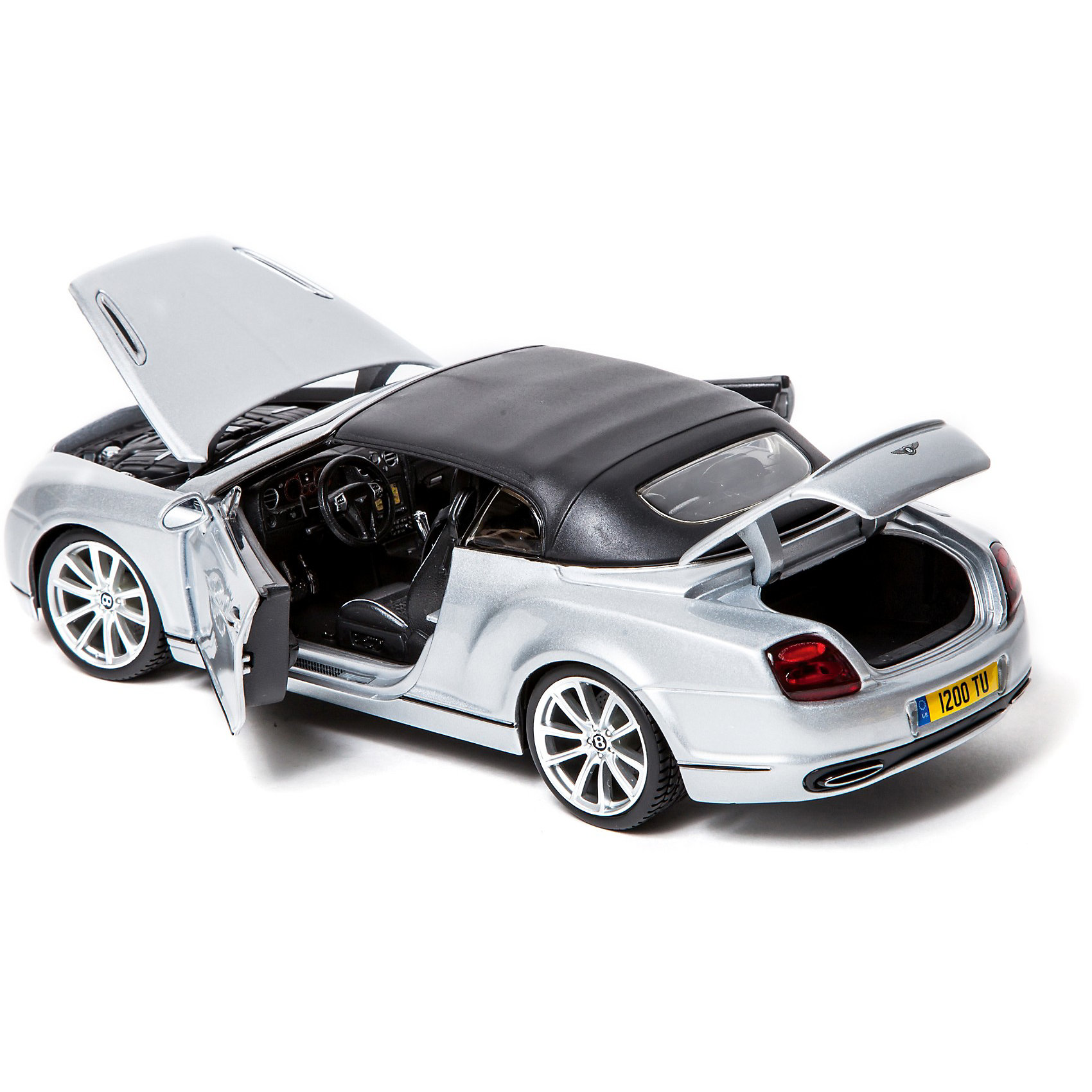 купить Bburago Машина BENTLEY Continental Supersports металл., 1:18 Bburago недорого