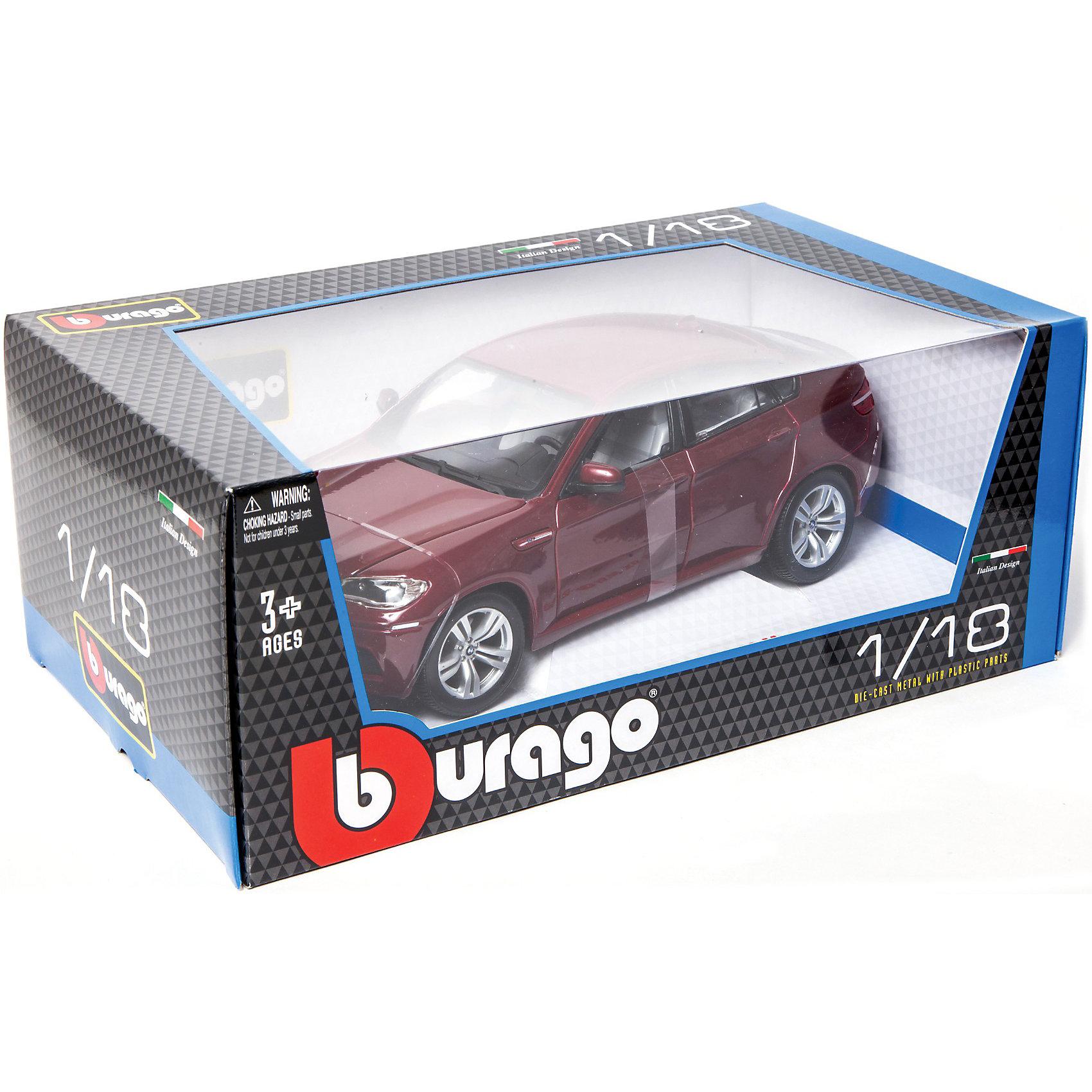 ������ BMW X6 M ������., 1:18, Bburago