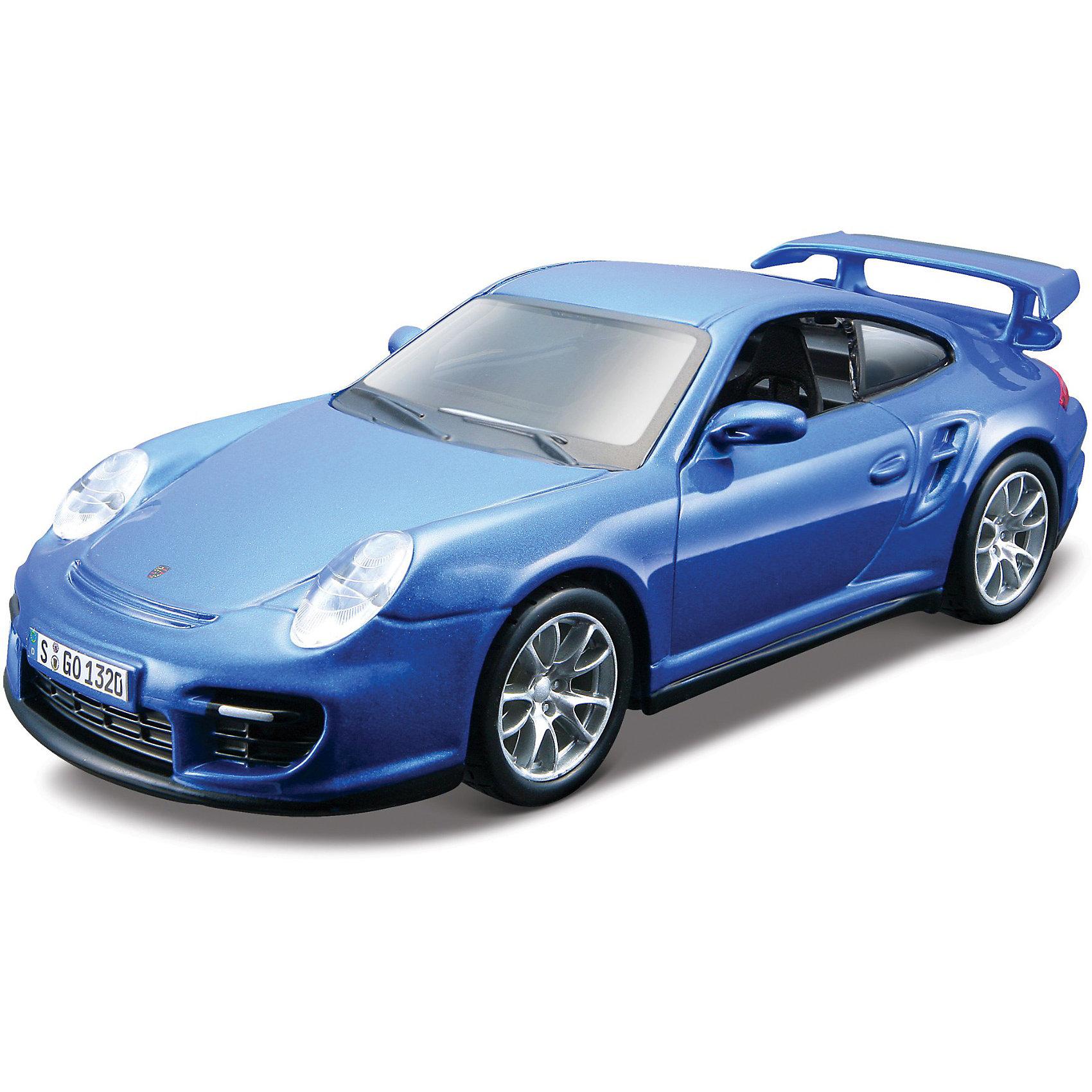 Машина  Porsche 911 GT2 металл.,сборка, 1:32,BburagoМашина  Porsche 911 GT2 металл.,сборка, 1:32,Bburago (Бураго)<br>Компания Bburago – мировой лидер в производстве коллекционных  моделей автомобилей.  <br>Более 30 лет профессиональные дизайнеры Bburago разрабатывают точные копии современных машин и ретро машин известных марок.  <br><br>Porsche 911 – спортивный легковой автомобиль производства немецкой компании Porsche AG в кузове двухдверное купе или кабриолет на его основе, в разных поколениях производящегося с 1964 года по наши дни.<br>Коллекционная модель Porsche 911 GT2 Bburago очень точно повторяет детали настоящего автомобиля.<br> <br>Функциональность игрушки: <br><br>- Собирается с помощью отвертки.<br>- Двери и капот открываются, руль вращается.<br><br>В процессе сборки маленького автомобиля и  игры в него ребенок развивает координацию движений и меткость, пространственное и образное мышление, воображение, мелкую моторику.  <br><br>С мини-модельками автомобилей Bburago игра станет настолько увлекательной, что оторваться будет невозможно!<br><br>Дополнительная информация:<br><br>- Размеры упаковки: 19 х 7 х 14,5 см<br>- Вес: 0,3 кг<br><br>Игрушку Машина  Porsche 911 GT2 металл.,сборка, 1:32,Bburago можно купить в нашем интернет-магазине.<br><br>Ширина мм: 90<br>Глубина мм: 150<br>Высота мм: 70<br>Вес г: 350<br>Возраст от месяцев: 144<br>Возраст до месяцев: 1164<br>Пол: Мужской<br>Возраст: Детский<br>SKU: 3369444