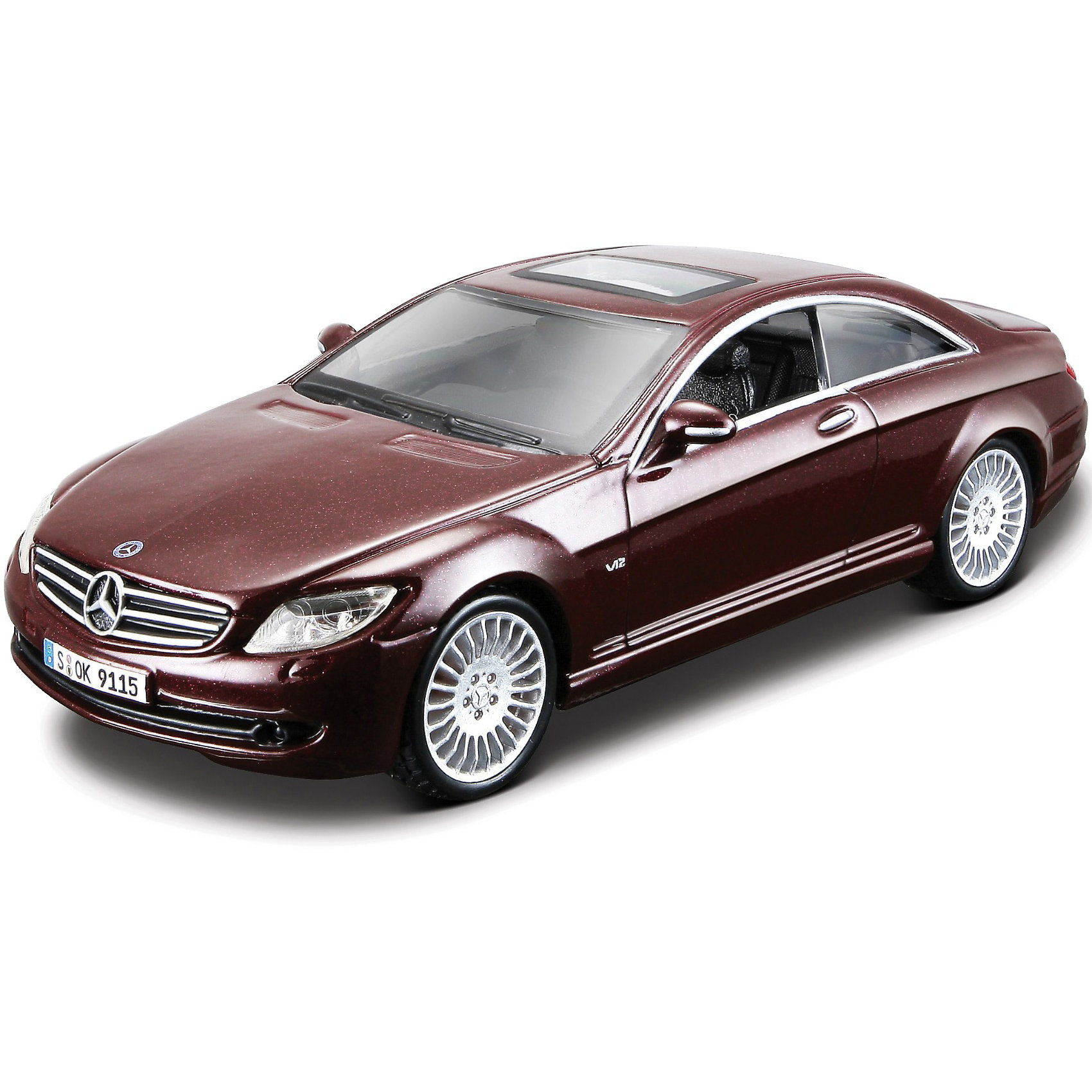 купить Bburago Машина  MERCEDES-BENZ CL550 металл., сборка, 1:32, Bburago недорого