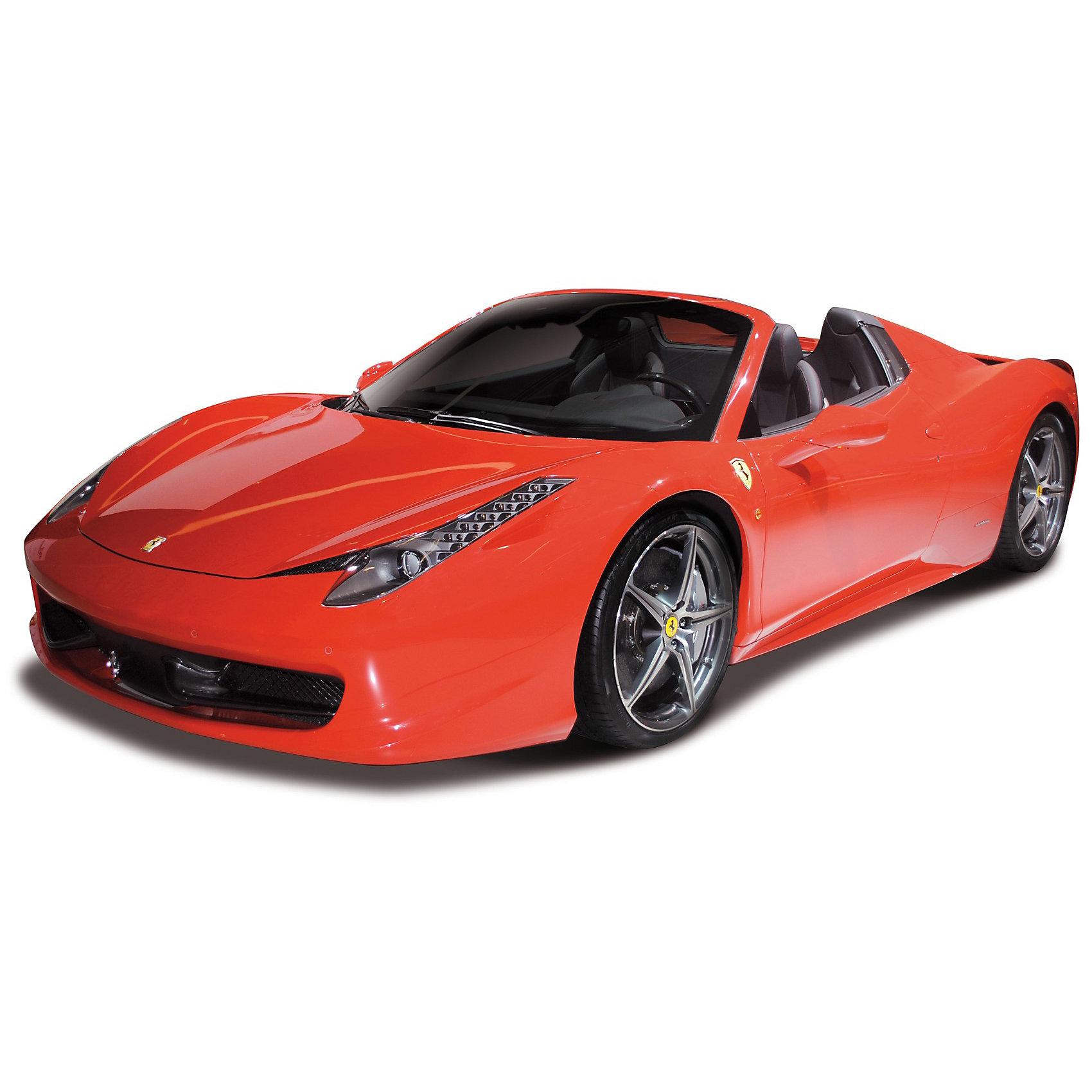 Машина  Ferrari  458 Spider металл.,  1:43, Bburago