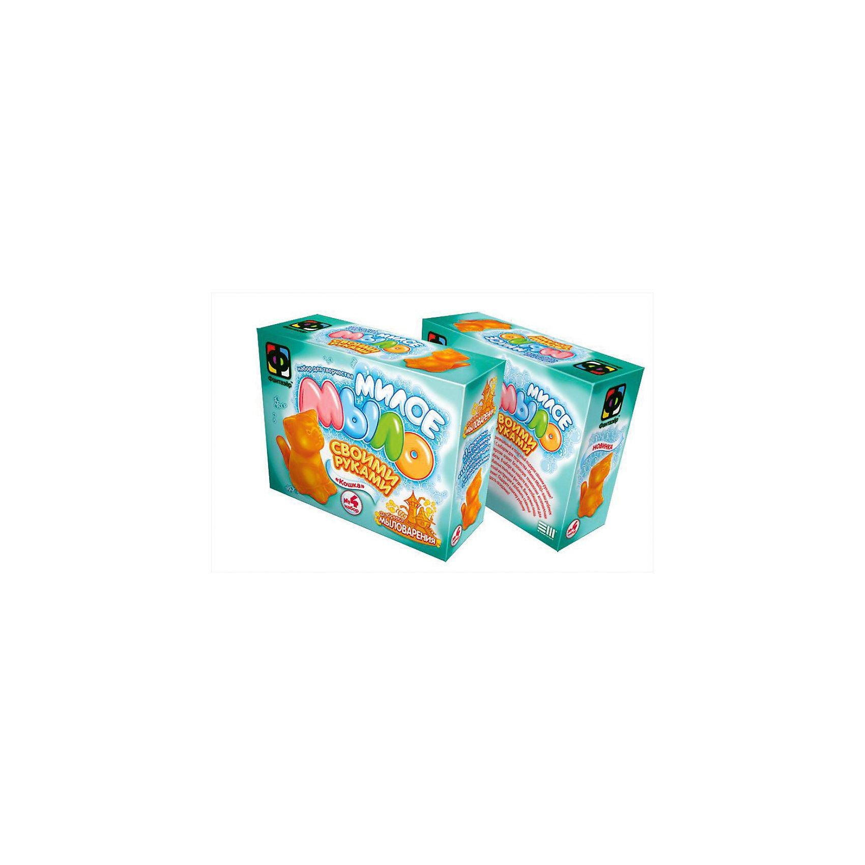 Фантазер Милое мыло Кошка, Фантазер набор д творчества набор для изготовления мыла своими руками футбол 2700000016718