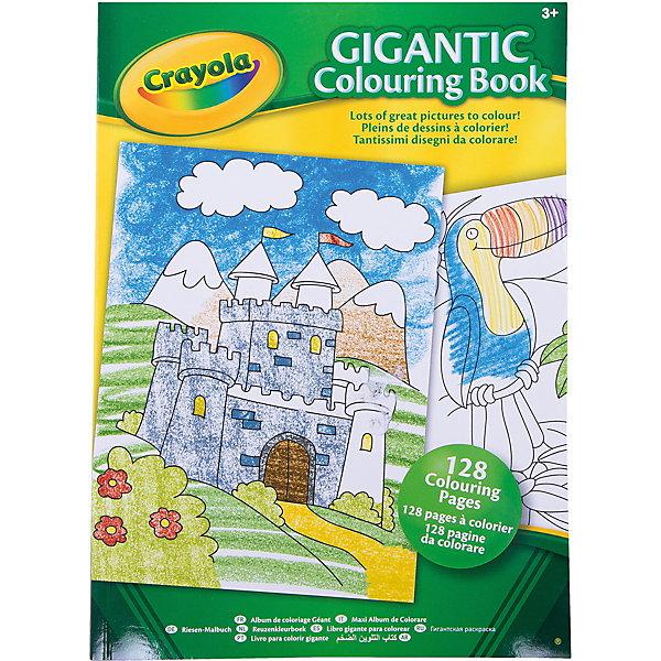 Большая раскраска, CrayolaРаскраски по номерам<br>Гигантская раскраска от Crayola – это 128 страниц настоящего счастья для любого малыша старше 3х лет. Раскраска имеет формат А4, ее удобно держать, удобно раскладывать на столе. Благодаря большому формату рисунки легко раскрашивать.<br>На страницах гигантской раскраски притаились чудесные замки, восхитительные тропические птицы, песчаные пляжи, ночные пейзажи… Пока все они черно-белые, но с помощью карандашей, красок или мелков их легко превратить в настоящие многоцветные шедевры. <br>В дождливый или в солнечный день, дома или в гостях, в поезде, в автомобиле, в детском саду или на перемене в школе, в одиночку или с друзьями вытаскивайте из рюкзака гигантскую раскраску и начинайте творить! <br><br>Станет прекрасным подарком любому малышу!<br><br>Большую раскраску, Crayola (Крайола) можно приобрести в нашем интернет магазине<br>Ширина мм: 285; Глубина мм: 205; Высота мм: 15; Вес г: 300; Возраст от месяцев: 36; Возраст до месяцев: 60; Пол: Унисекс; Возраст: Детский; SKU: 3371793;