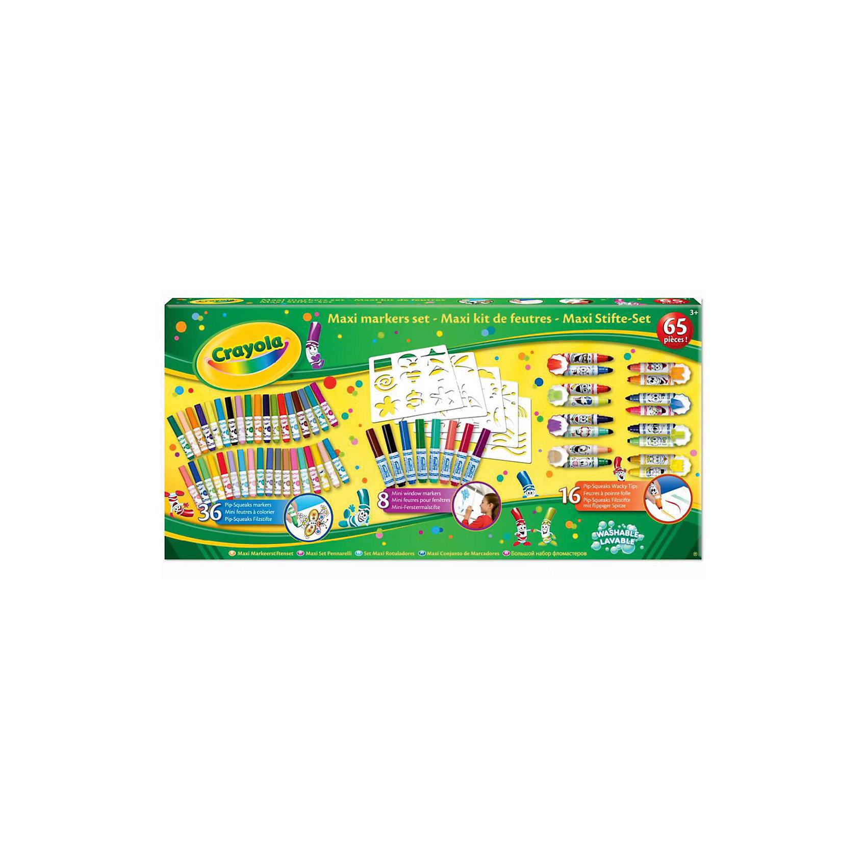 Crayola Гигантский набор фломастеров, Crayola crayola llc crayola oil pastels 28 color set set of 12