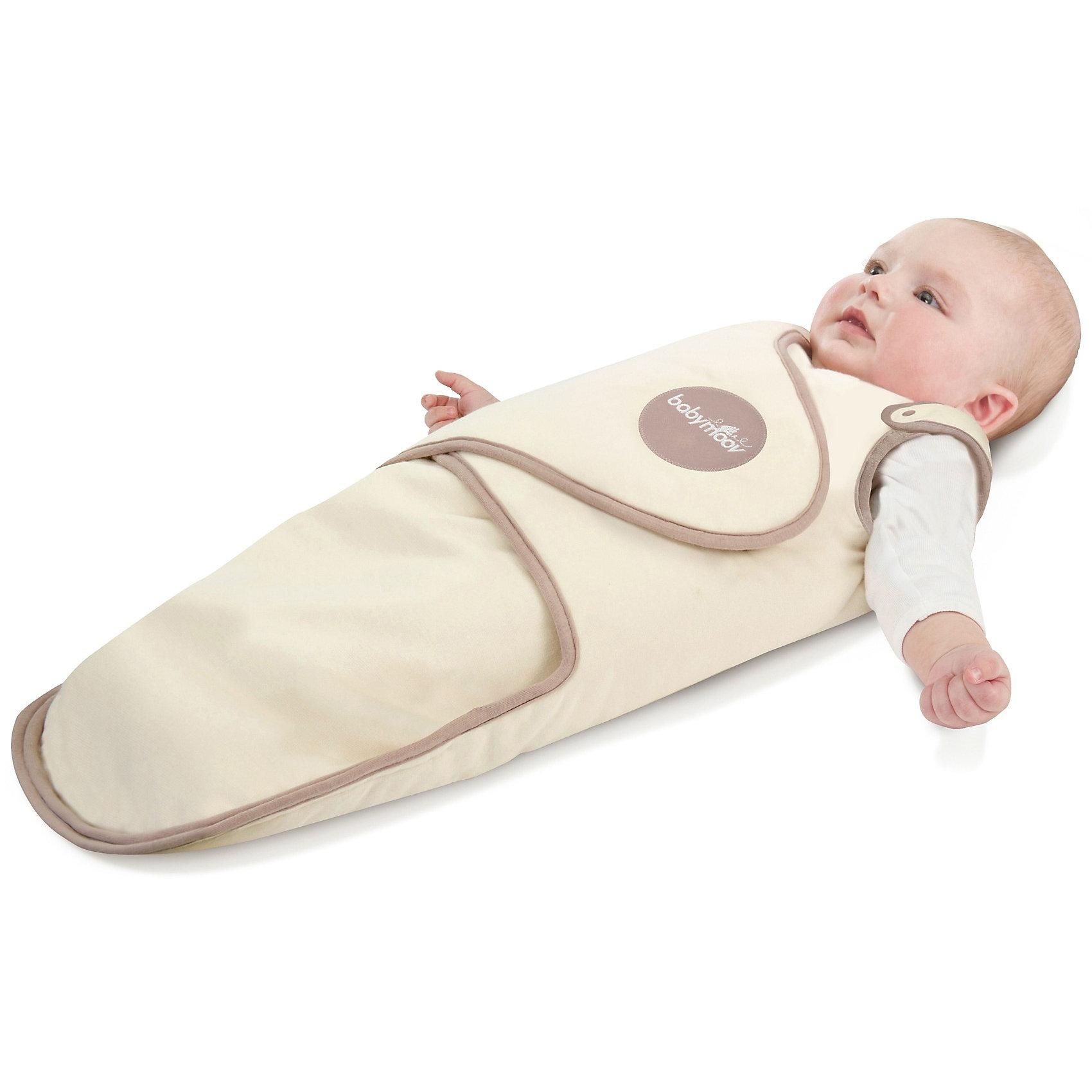 Одеяло для пеленания, Babymoov, от 3-х месяцевОдеяло для пеленания, Babymoov (Бейбимув), от 3-х месяцев – это одеяло для удобного пеленания вашего подросшего малыша.<br>Одеяло для пеленания, выполненное из уникальной «дышащей» ткани, поможет быстро и легко запеленать малыша. Для этого понадобиться всего 4 движения! Также есть возможность отрегулировать тугость пеленания с помощью липучек, которые также помогут надежно зафиксировать одеяло. При этом малыш может исследовать мир, ведь ручки можно не закутывать. В составе ткани 100% хлопок, что является очень важно для здоровья малыша, ведь в этом возрасте кожа очень нежная и ей необходимы соприкосновения только с мягкими материалами. Можно стирать в стиральной машине при температуре 30?.<br><br>Дополнительная информация:<br><br>- Материал: 100% хлопок<br>- Размер: 75х32х2 см<br><br>Одеяло для пеленания, Babymoov (Бейбимув), от 3-х месяцев можно купить в нашем интернет-магазине.<br><br>Ширина мм: 654<br>Глубина мм: 327<br>Высота мм: 58<br>Вес г: 328<br>Цвет: бежевый<br>Возраст от месяцев: 3<br>Возраст до месяцев: 6<br>Пол: Унисекс<br>Возраст: Детский<br>SKU: 3372800
