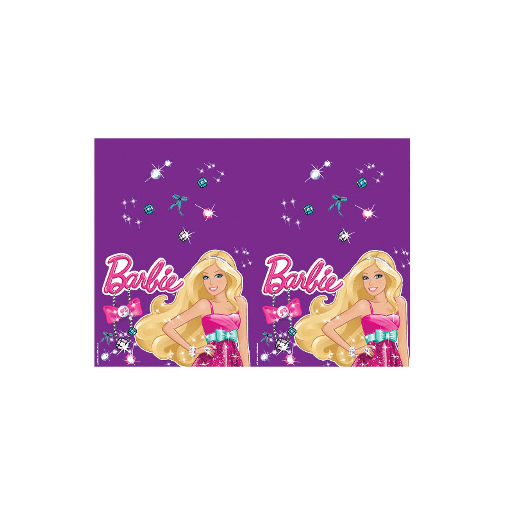 Скатерть Стразы, BarbieBarbie<br>Скатерть полиэтиленовая.<br>Размер: 133 х 183 см.<br>Серия: Barbie (Барби)<br><br>Ширина мм: 215<br>Глубина мм: 3<br>Высота мм: 300<br>Вес г: 80<br>Возраст от месяцев: 36<br>Возраст до месяцев: 120<br>Пол: Женский<br>Возраст: Детский<br>SKU: 3375189