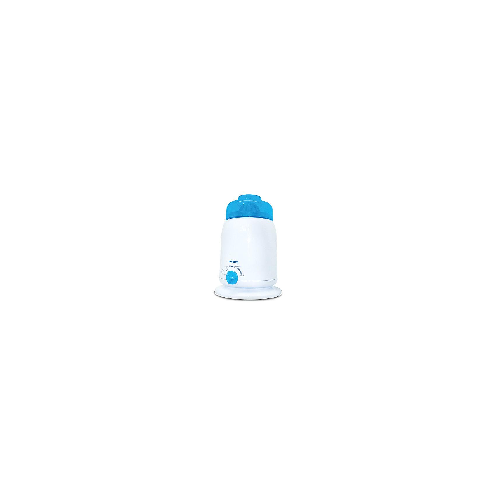 Подогреватель детского питания Maman LS-B202Детская бытовая техника<br>Подходит для всех типов бутылочек. <br>Нагревает детское питание за несколько минут до необходимой температуры. <br>Плавная регулировка температуры. <br>автоматически поддерживает заданную температуру нагрева. <br>В комплекте стакан с крышкой (для подогрева и хранения детского питания). <br>Безопасный, экономичный и надежный нагревательный элемент. <br>индикатор состояния и готовности нагрева.<br><br>Ширина мм: 140<br>Глубина мм: 140<br>Высота мм: 195<br>Вес г: 457<br>Возраст от месяцев: 0<br>Возраст до месяцев: 36<br>Пол: Унисекс<br>Возраст: Детский<br>SKU: 3375637