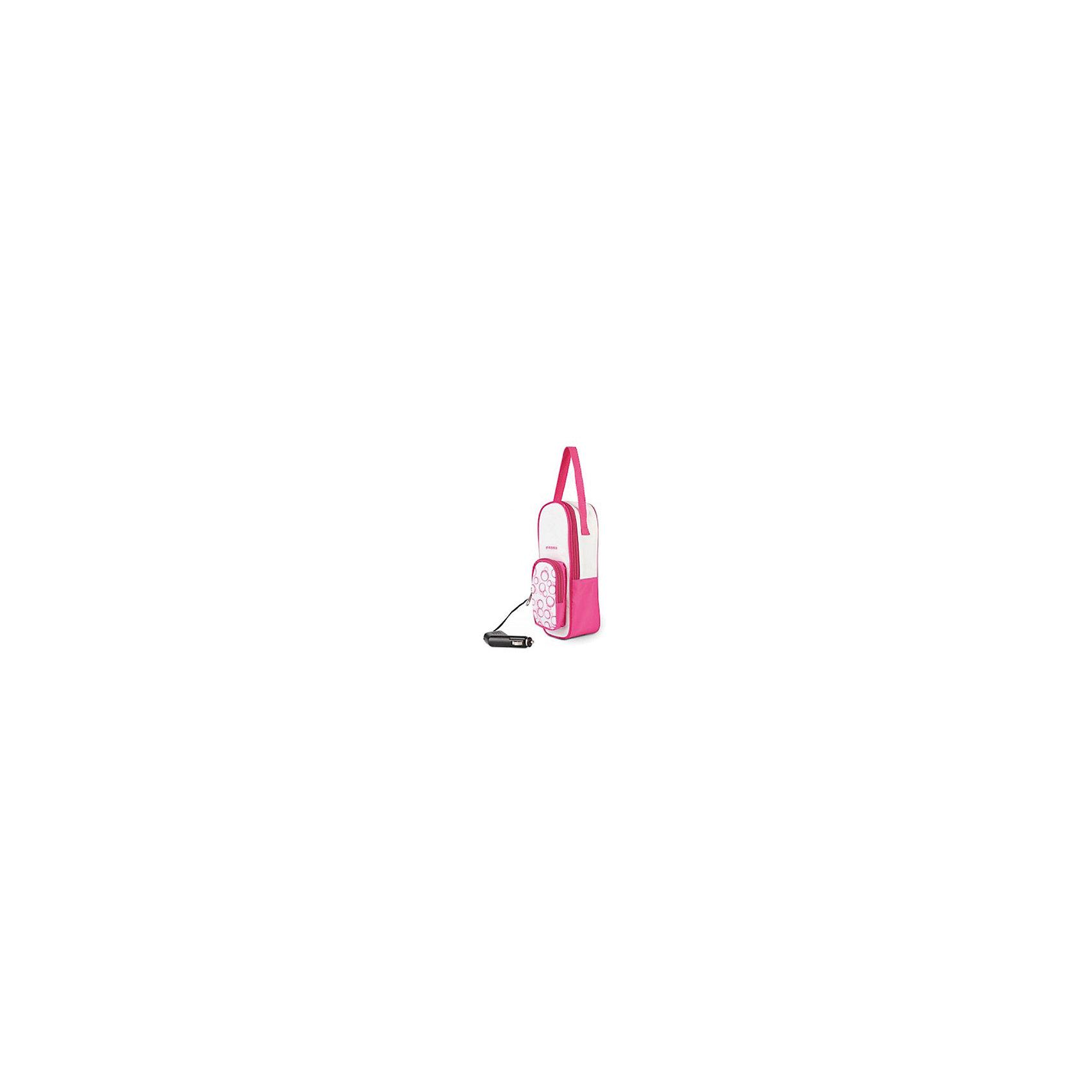Подогреватель детского питания Maman LS-C003Работает от бортовой сети автомобиля.<br>Предназначен для разогрева детского питания в бутылочках всех типов, емкостью от 100 мл до 300 мл.<br>Разогревает и сохраняет детское питание теплым в длительной автомобильной поездке.<br>Встроенный электронный термостат гарантирует защиту от перегрева.<br>Подогреватель выполнен в виде компактной сумки, в которой можно переносить бутылочку с питанием.<br><br>Ширина мм: 100<br>Глубина мм: 100<br>Высота мм: 240<br>Вес г: 523<br>Возраст от месяцев: 0<br>Возраст до месяцев: 36<br>Пол: Унисекс<br>Возраст: Детский<br>SKU: 3375639