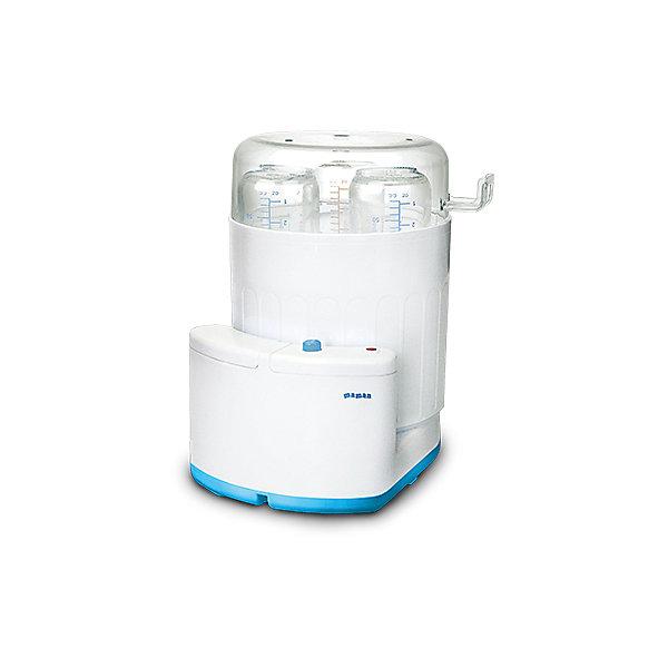 Стерилизатор Maman LS-B302Cтерилизаторы<br>Стерилизатор Maman предназначен для стерилизации бутылочек емкостью от 100 мл до 300 мл (до 3-х одновременно) и аксессуаров, сосок, пустышек при помощи горячего пара.<br>Стерилизатор оснащен безопасным, экономичным и надежным нагревательным элементом. <br>Индикация работы и окончания процесса стерилизации. Простота и удобство эксплуатации.<br>Автоматическое отключение.<br><br>Дополнительная информация:<br><br>- вмещает до 3-х бутылочек от 100 до 300 мл.;<br>- отключается автоматически;<br>- индикация работы и окончания процесса стерилизации;<br>- температура нагрева: до 100С.<br>- мощность: 350 Вт<br>- в комплекте: стерилизатор; мерный стакан держатель и инструкция на русском языке.<br><br>Стерилизатор Maman можно купить в нашем магазине.<br><br>Ширина мм: 200<br>Глубина мм: 170<br>Высота мм: 240<br>Вес г: 648<br>Возраст от месяцев: 0<br>Возраст до месяцев: 36<br>Пол: Унисекс<br>Возраст: Детский<br>SKU: 3375641