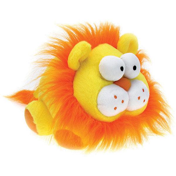 Интерактивная игрушка Хохотун - Лев, Woody OTimeИнтерактивные мягкие игрушки<br>Интерактивная игрушка, при хлопке и тряске издает смешные звуки и танцует.<br><br>Длина около 20 см.<br><br>Ширина мм: 200<br>Глубина мм: 160<br>Высота мм: 140<br>Вес г: 310<br>Возраст от месяцев: 36<br>Возраст до месяцев: 1188<br>Пол: Унисекс<br>Возраст: Детский<br>SKU: 3376323