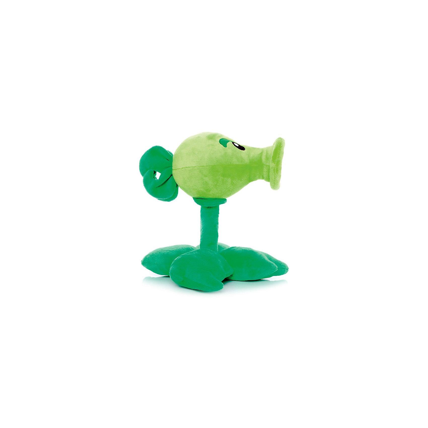 Плюшевая игрушка Горохострел, 30 см, Растения против ЗомбиРастение-горохострел знакомо каждому, кто хоть раз играл в Plants vs. Zombies – этот персонаж незаменим на любом уровне игры, от самого первого до последнего. Это один из самых известных героев игры, а в официальной серии плюшей, произведенных по лицензии PopCap – один из самых узнаваемых сувениров. <br><br>Горохострел традиционно считается лучшим подарком для поклонников «Растений против Зомби», а его популярность сравнима разве что с самим плюшевым Зомби. Игрушка изготавливается из яркого и приятного на ощупь искусственного меха и наполняется синтепоном, подходит для детей и взрослых – всех, кто любит Plants vs. Zombies и оригинальные сувениры!<br>Размер 30 см. Лицензия: PopCap<br><br>Ширина мм: 30<br>Глубина мм: 24<br>Высота мм: 22<br>Вес г: 285<br>Возраст от месяцев: 36<br>Возраст до месяцев: 1188<br>Пол: Унисекс<br>Возраст: Детский<br>SKU: 3376330