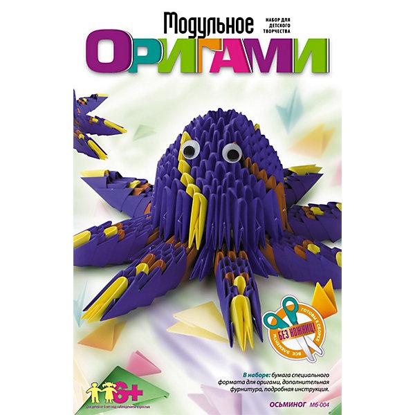 Модульное оригами Осьминог, LORIБумага<br>Модульное оригами Осьминог, LORI станет самым интересным занятием для Вашего малыша!<br>Объемные фигуры из бумаги всегда смотрятся очень красиво и необычно. Наборы из серии «Модульное оригами» предлагают изучить эту удивительную технику. Более простая по сравнению с классическим оригами, она в то же время является очень увлекательным занятием, которое понравится не только детям, но и взрослым. <br>Занятия с данным набором способствуют развитию внимания, памяти, пространственного и образного мышления, развивают мелкую моторику, воспитывают терпение и аккуратность.<br><br>Дополнительная информация:<br><br>Размер: 210х135х33 мм.<br><br>Вес: 136 г.<br><br>Станет прекрасным развивающим подарком Вашему малышу!<br>Легко купить в нашем интернет-магазине!<br><br>Ширина мм: 210<br>Глубина мм: 135<br>Высота мм: 33<br>Вес г: 136<br>Возраст от месяцев: 72<br>Возраст до месяцев: 144<br>Пол: Унисекс<br>Возраст: Детский<br>SKU: 3376572