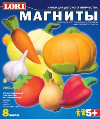 Фигурки на магнитах Овощи , LORI