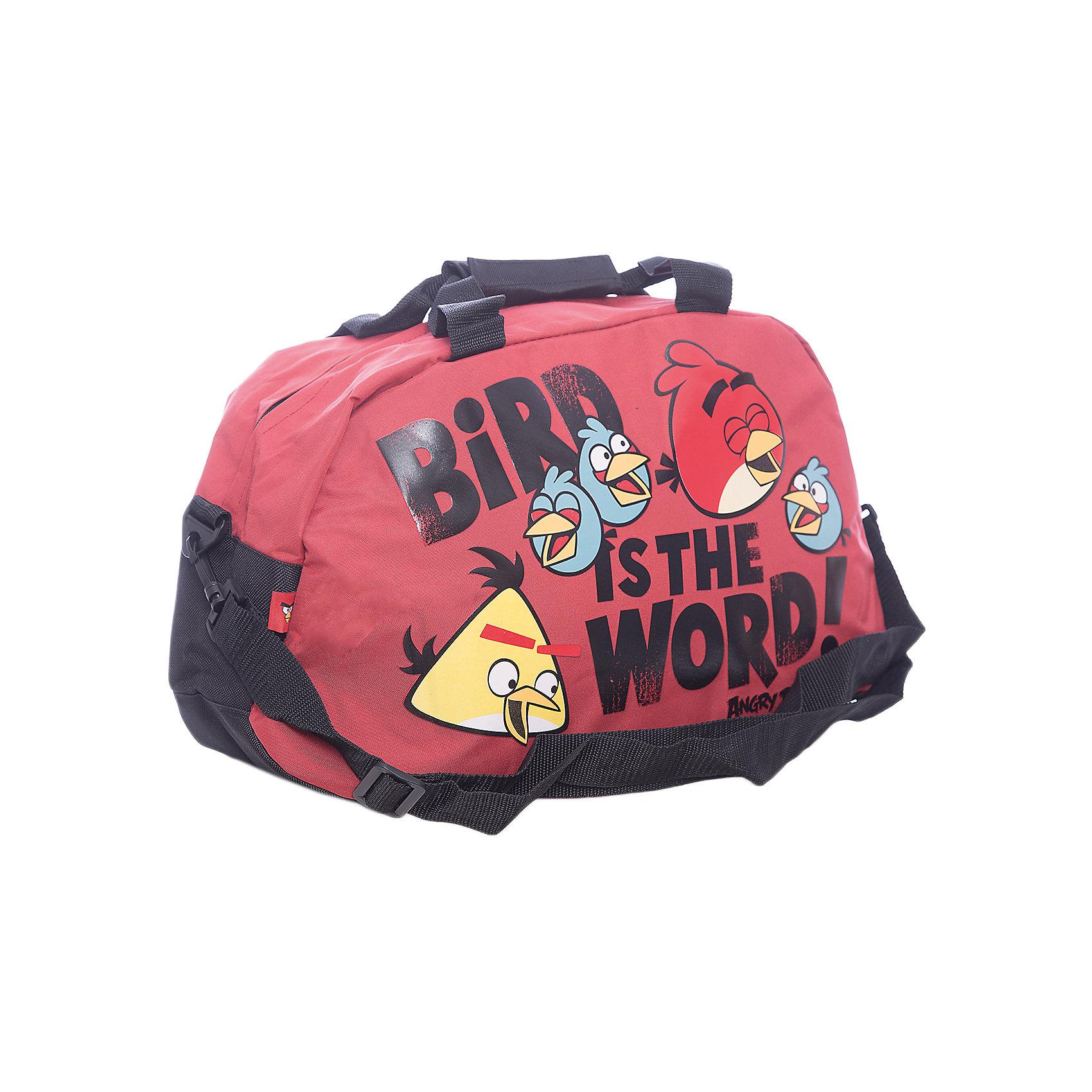 Сумка спортивная, Angry BirdsСумка  Angry Birds (Злые Птички) спортивная c боковым карманом и отделением для мобильного телефона.<br><br>Дополнительная информация:<br><br>Размер 26 х 50 х 15 см.<br><br>Angry Birds Сумку спортивную можно купить в нашем магазине.<br><br>Ширина мм: 200<br>Глубина мм: 300<br>Высота мм: 100<br>Вес г: 500<br>Возраст от месяцев: 96<br>Возраст до месяцев: 144<br>Пол: Унисекс<br>Возраст: Детский<br>SKU: 3377334
