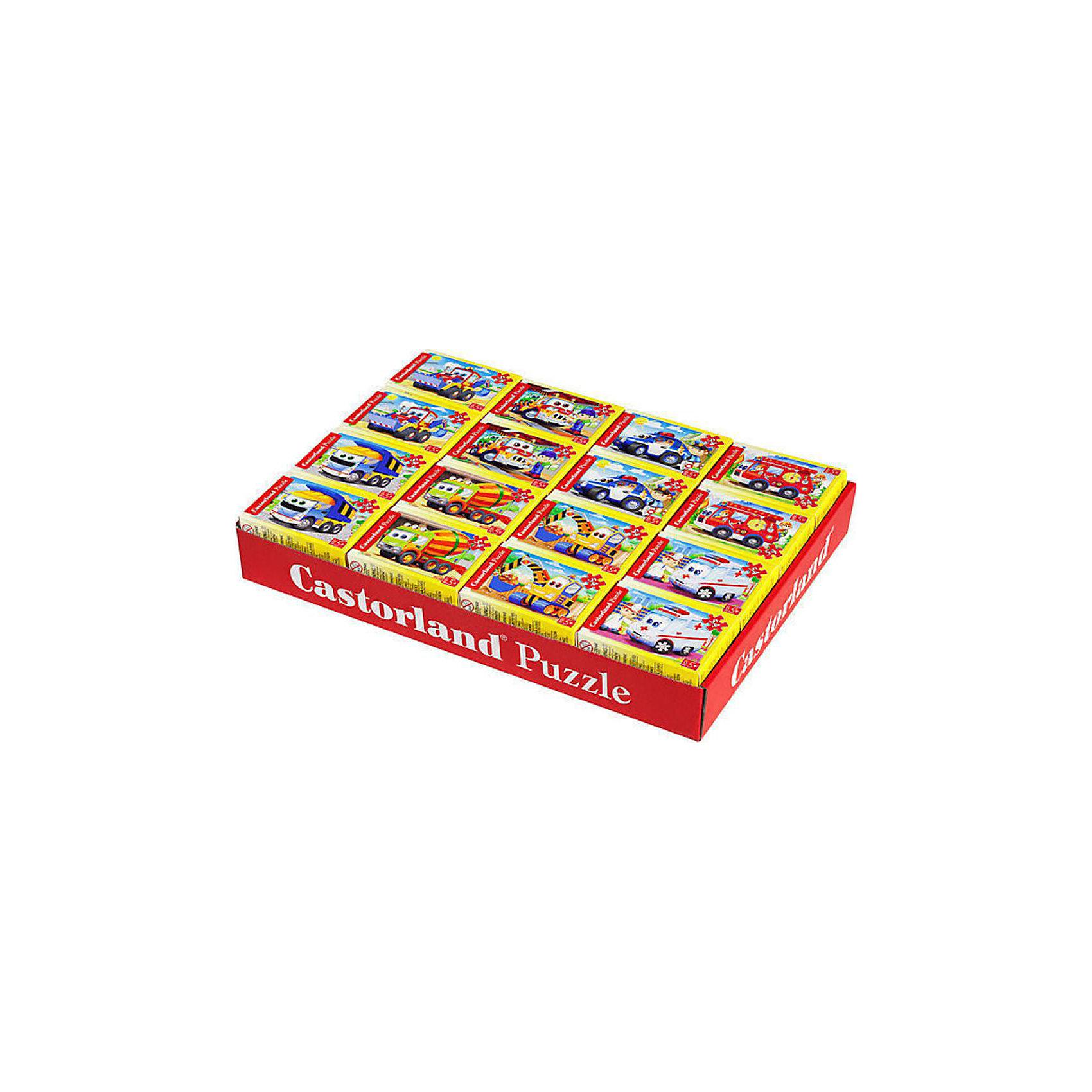 Castorland Пазлы Новый год, 54 детали Mini, Castorland, в ассорт. пазлы бомик пазлы книжка репка