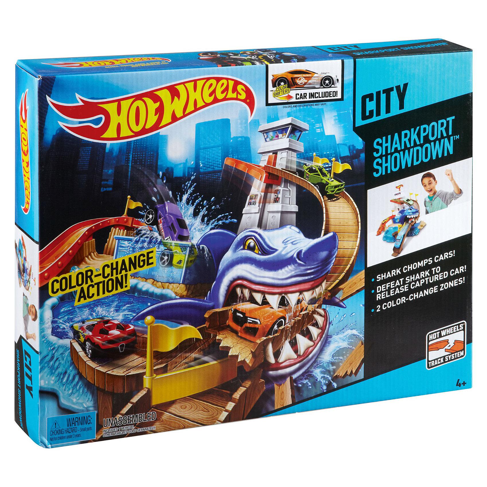 игровой-набор-порт-акул-из-се-рии-color-shifters-hot-wheels
