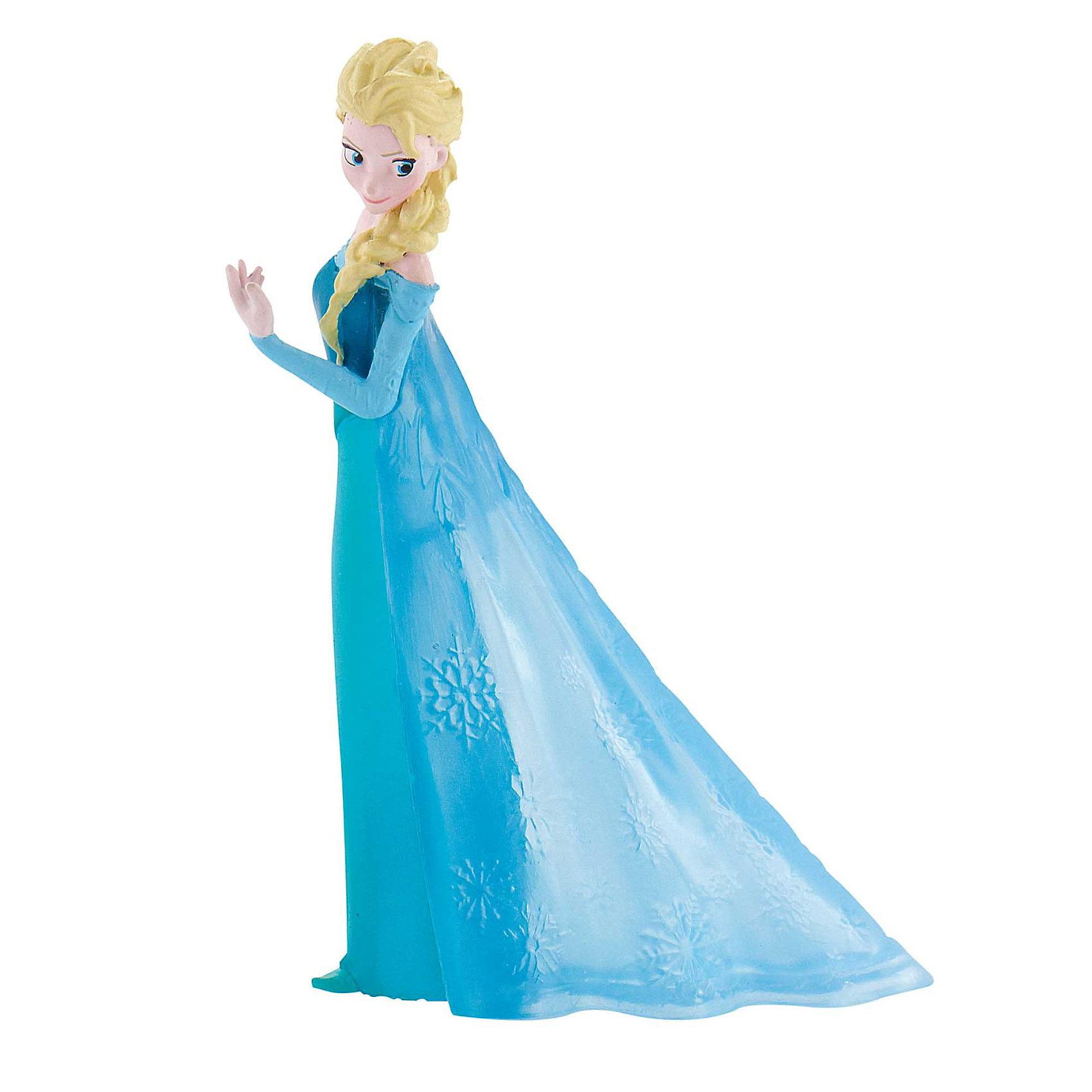 Фигурка Эльза,  DisneyНемецкий бренд Bullyland более 40 лет специализируется на производстве высококачественных и реалистичных фигурок, которые помогают малышам познавать окружающий мир. <br>Фигурка Эльзы – принцессы из нового мультфильма «Холодное сердце» - станет настоящим подарком для коллекционеров и поклонников Disney. Эльза выглядит точь-в-точь как на киноэкране: светлые волосы, заплетенные в косу, длинное синее платье в пол, серьезный взгляд. Она станет подлинным украшением вашей коллекции или положит начало новой. <br>Фигурка изготовлена из термопластичного каучука. В отличие от пластика, этот материал не выделяет вредных веществ при горении, безопасен для окружающей среды и здоровья малыша, а также не застывает в желудке ребенка при случайном проглатывании. <br><br>Дополнительная информация:<br><br>Высота фигурки: 8,5 см.<br><br>Фигурку Эльза,  Disney можно купить в нашем магазине.<br><br>Ширина мм: 120<br>Глубина мм: 32<br>Высота мм: 36<br>Вес г: 31<br>Возраст от месяцев: 36<br>Возраст до месяцев: 96<br>Пол: Женский<br>Возраст: Детский<br>SKU: 3383417