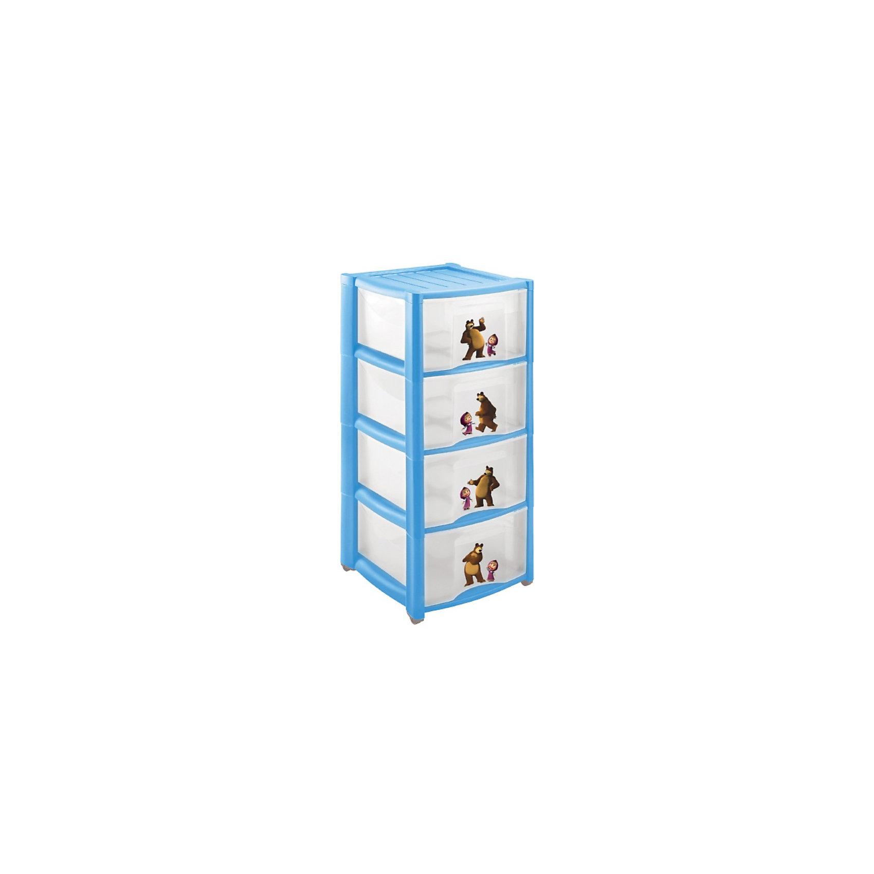 Пластиковый комод Маша и Медведь, 4 ящика, в ассортименте.Детский пластиковый комод Маша и Медведь, 4 ящика. <br>Материал: полипропилен.<br>Размеры: 39х37х78,5см.<br>Детский пластиковый комод Маша и Медведь с 4-мя ящиками можно купить в нашем интернет-магазине.<br>ВНИМАНИЕ!!! Данный артикул имеется в наличии в разных вариантах исполнения. Заранее выбрать определенный вариант нельзя. При заказе нескольких комодов возможно получение одинаковых.<br><br>Ширина мм: 390<br>Глубина мм: 370<br>Высота мм: 785<br>Вес г: 3700<br>Возраст от месяцев: 36<br>Возраст до месяцев: 96<br>Пол: Унисекс<br>Возраст: Детский<br>SKU: 3384191