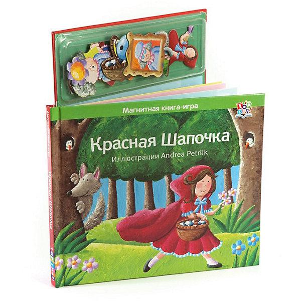 Красная шапочка, Магнитные книжкиПервые книги малыша<br>Классическая сказка «Красная шапочка» стала ещё интереснее с магнитными фигурками из этого набора. С помощью магнитиков дети смогут дополнить красочные картинки, нарисованные всемирно известным художником Andrea Petrlik.<br>Книга 10 страниц<br>17 магнитных картинок.<br><br>Ширина мм: 205<br>Глубина мм: 10<br>Высота мм: 240<br>Вес г: 400<br>Возраст от месяцев: 36<br>Возраст до месяцев: 72<br>Пол: Унисекс<br>Возраст: Детский<br>SKU: 3392050