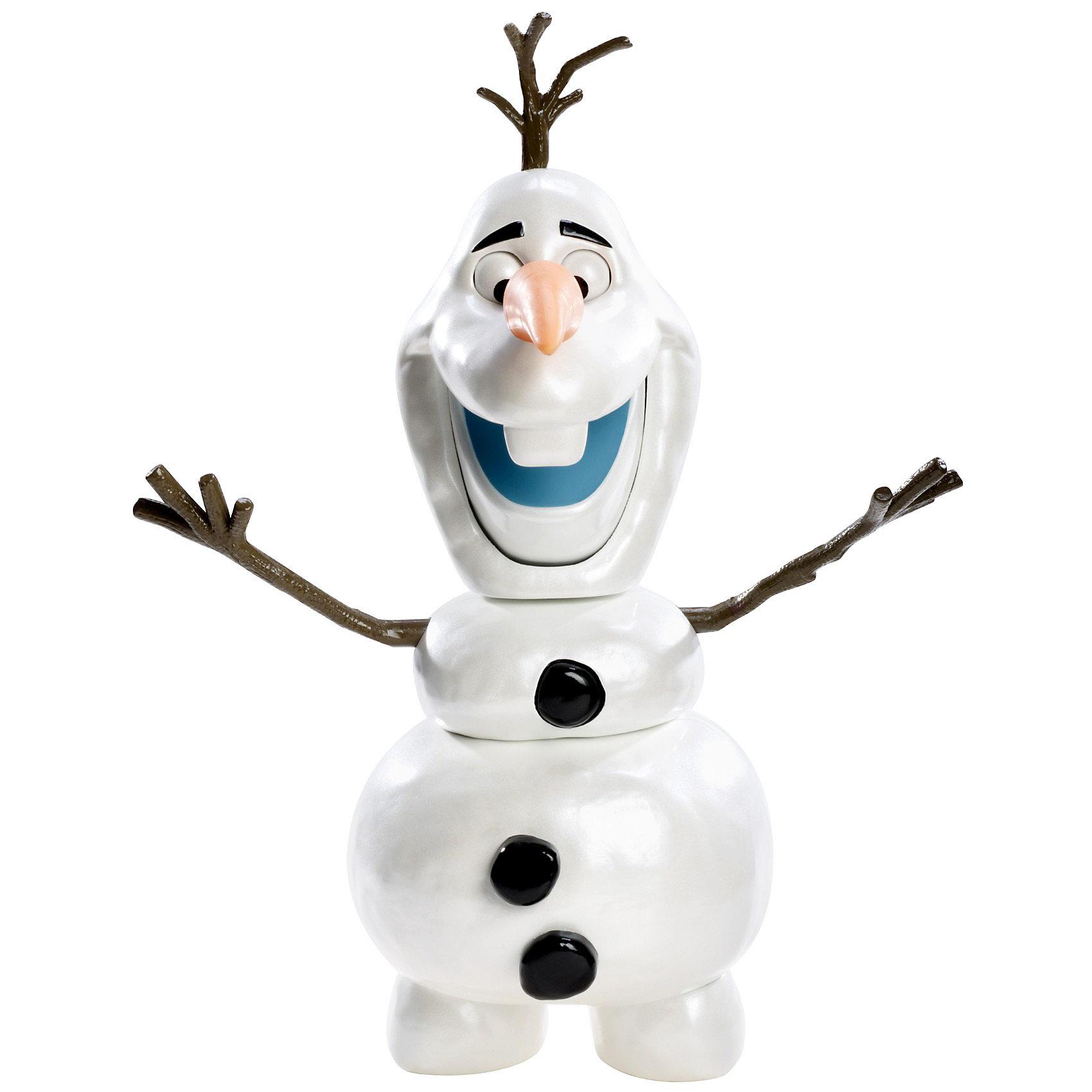 Игрушка Снеговик Олаф, Холодное сердцеПопулярные игрушки<br>Disney Princess. Кукла снеговик Олаф из м/ф Холодное сердце 20,5 x 8,5 x 23 см<br><br>Ширина мм: 233<br>Глубина мм: 207<br>Высота мм: 89<br>Вес г: 242<br>Возраст от месяцев: 36<br>Возраст до месяцев: 72<br>Пол: Женский<br>Возраст: Детский<br>SKU: 3399218