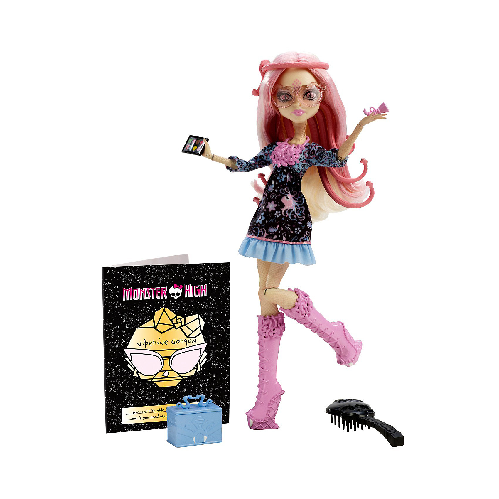 Кукла Вайперина Горгон Монстры! Камера! Мотор!, Monster High