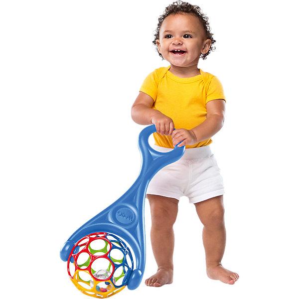 Каталка  2-в-1, Oball, в ассортиментеКаталки и качалки<br>Ребенку так нравится  играть с этой каталкой!<br><br>Особенности<br>2 варианта игры: можно катать по поверхности, держа за ручку, или легко отсоединить мячик от ручки и играть с ним отдельно<br>Удобная ручка для детских пальчиков<br>Прозрачный шарик с разноцветными бусинами во время игры издает забавные звуки<br>Каталка помогает малышу в увлекательной форме учиться ходить<br><br>Дополнительные характеристики<br> В ассортименте 2 цвета<br> Не содержит вредных веществ<br> Размеры товара: 19 х 15 х 58 см<br>Ширина мм: 538; Глубина мм: 195; Высота мм: 144; Вес г: 282; Возраст от месяцев: 6; Возраст до месяцев: 24; Пол: Унисекс; Возраст: Детский; SKU: 3400197;