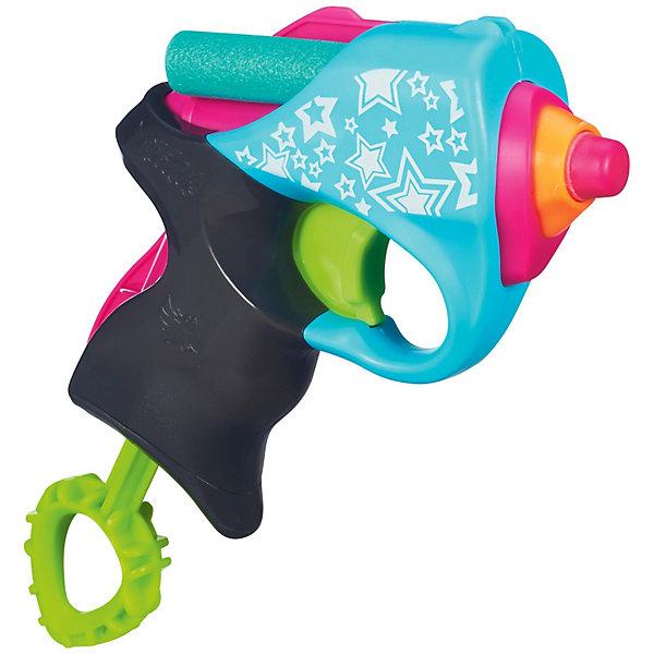 Мини-бластер, N-RebelleИдеи подарков<br>Мини-бластер Nerf Rebelle - оригинальное элегантное оружие для девочек. Стильный компактный бластер выполнен в розовых тонах и имеет привлекательный дизайн с<br>симпатичными узорами. Бластер рассчитан на 2 стрелы (входят в комплект), которые выпускаются при помощи удобного спускового курка, его легко перезаряжать. Благодаря<br>своей компактности и небольшим размерам модель легко помещается в ладонь или рюкзак. Стрелы выполнены из мягкого материала и не опасны для детей.<br><br>Дополнительная информация:<br><br>- В комплекте: мини-бластер, 2 стрелы.<br>- Материал: пластик.<br>- Размер упаковки: 3,3 х 19 х 16,4 см.<br>- Вес: 0,545 кг.<br><br>Мини-бластер Nerf Rebelle можно купить в нашем интернет-магазине.<br><br>Ширина мм: 189<br>Глубина мм: 161<br>Высота мм: 36<br>Вес г: 101<br>Возраст от месяцев: 96<br>Возраст до месяцев: 144<br>Пол: Женский<br>Возраст: Детский<br>SKU: 3405537