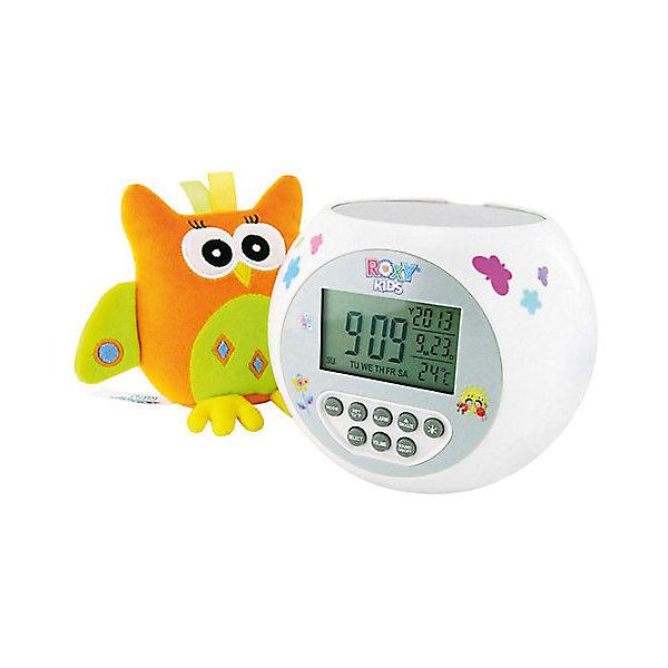 Проектор звездного неба Olly с игрушкой сова, Roxy-KidsДетские предметы интерьера<br>Проектор звездного неба Olly с игрушкой сова, Roxy-Kids.<br>Описание проектор:<br>- проекция звездного неба;<br>- функция попеременно меняющейся проекции.<br>- музыка (различные успокаивающие мелодии);<br>- дисплей с часами, будильником, термометром.<br>Дополнительная информация:<br>- материал игрушки – плюш;<br>- материал проектора -  прочный ABS пластик. <br>Проектор работа от батареек тип АА.<br>Проектор звездного неба Olly с игрушкой сова можно купить в нашем интернет-магазине.<br><br>Ширина мм: 120<br>Глубина мм: 120<br>Высота мм: 120<br>Вес г: 350<br>Возраст от месяцев: 0<br>Возраст до месяцев: 84<br>Пол: Унисекс<br>Возраст: Детский<br>SKU: 3406184
