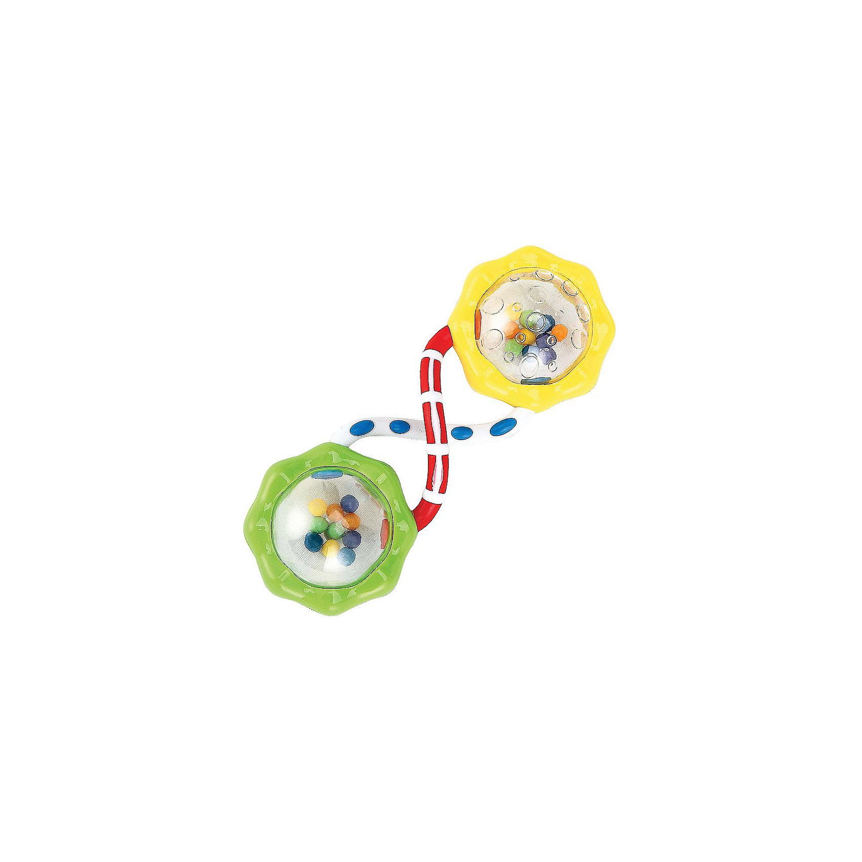 Погремушка Шарики FUN UP Happy BabyПогремушки<br>Погремушка «Шарики» FUN UP<br><br>Развивает: познавательную активность, ловкость рук, восприятие и мышление, положительно влияет на эмоциональное состояние малыша.<br><br>Характеристики: световые и звуковые эффекты; многофункциональность.<br><br>Дополнительная информация:<br><br>Материал: АБС-пластик, полипропилен<br><br>Погремушка Шарики FUN UP Happy Baby можно купить в нашем интернет-магазине.<br><br>Ширина мм: 180<br>Глубина мм: 125<br>Высота мм: 40<br>Вес г: 53<br>Возраст от месяцев: 3<br>Возраст до месяцев: 24<br>Пол: Унисекс<br>Возраст: Детский<br>SKU: 3408926