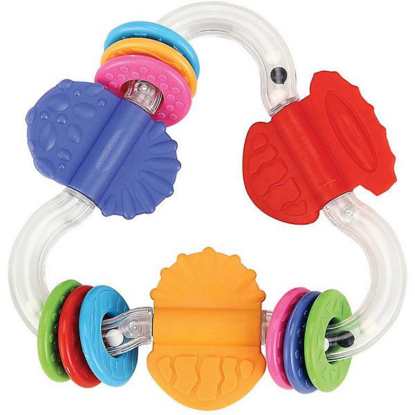 Зигзаг-прорезыватель POSITIVIKUS Happy BabyПустышки<br>Зигзаг-прорезыватель POSITIVIKUS<br><br>Развивает: координацию движений; слуховое, тактильное и зрительное восприятие; познавательный интерес.<br><br>Характеристики: прозрачный корпус в виде зигзага с шариками, которые создают шумовой эффект; прорезыватели в виде колечек, которые передвигаются по зигзагу; резиновые ограничители служат прорезывателями.<br><br>Дополнительная информация:<br><br>Материал: АБС пластик, термопластичная резина.<br><br>Зигзаг-прорезыватель POSITIVIKUS Happy Baby можно купить в нашем интернет-магазине.<br>Ширина мм: 200; Глубина мм: 145; Высота мм: 40; Вес г: 91; Возраст от месяцев: 3; Возраст до месяцев: 24; Пол: Унисекс; Возраст: Детский; SKU: 3408927;