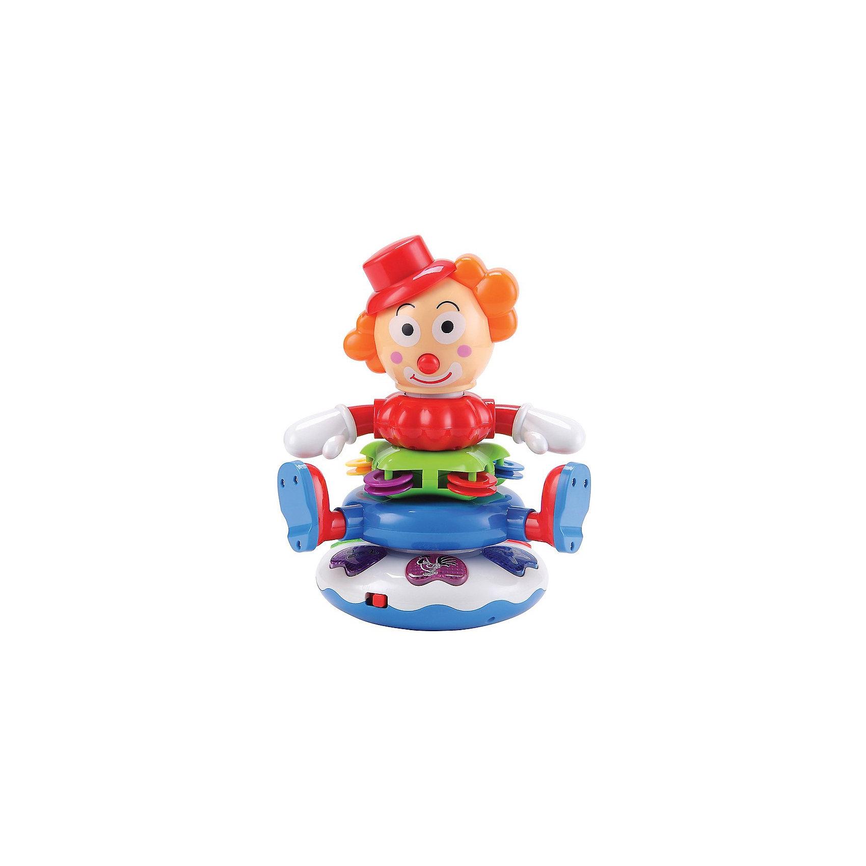 Пирамидка «Веселый клоун» CHOOVA Happy Baby