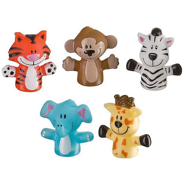 Набор игрушек на пальцы Джунгли/сафари FUN AMIGOS Happy Baby