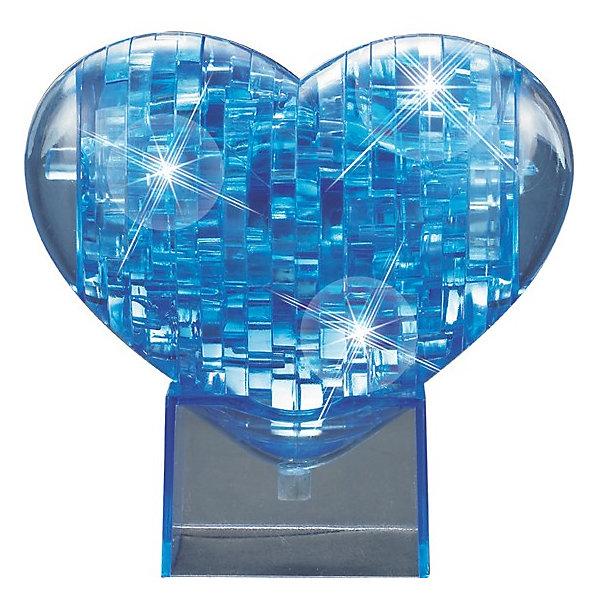 Кристаллический пазл 3D  Сердце, CreativeStudio3D пазлы<br>Объемные головоломки воплощают в себе удачное сочетание тренажера для ума и приятного подарка близким, ведь процесс сборки 3D пазлов развивает пространственное мышление, память, логику и внимательность, а полученную в результате вещицу можно преподнести в качестве небольшого сувенира.<br><br>Дополнительная информация:<br><br>- Количество деталей: 40 шт.<br>- Материал: пластик.<br>- Масса: 162 г<br>- Размеры: 135x180x40 мм<br>- Цвет в ассортименте<br><br>Кристаллический пазл 3D  Сердце, CreativeStudio можно купить в нашем магазине.<br>Ширина мм: 40; Глубина мм: 140; Высота мм: 90; Вес г: 300; Возраст от месяцев: 36; Возраст до месяцев: 192; Пол: Унисекс; Возраст: Детский; Количество деталей: 43; SKU: 3410795;