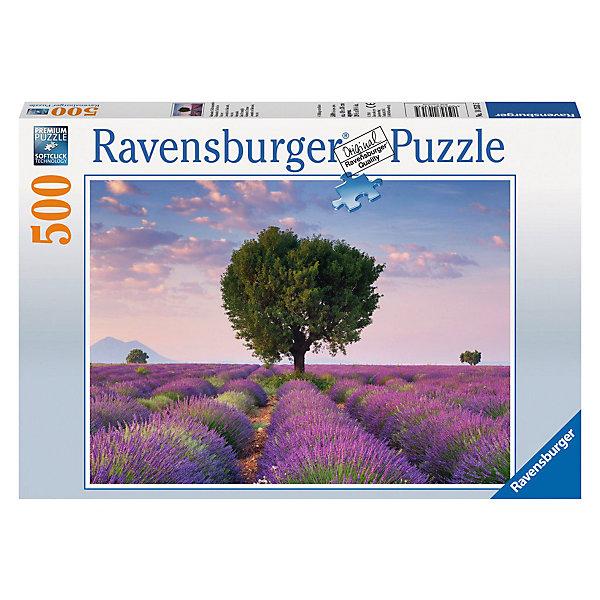 Пазл «Лавандовое поле», 500 деталей, RavensburgerПазлы до 500 деталей<br>Цветущая с июня по август лаванда придает удивительные краски природным ландшафтам Прованса - от дымчато-лиловых до иссиня-фиолетовых, в зависимости от погодных условий и поры цветения. С пазлом Лавандовое поле от Ravensburger (Равенсбургер) Вы можете привнести умиротворяющую частичку цветущих полей в своей дом! Пазл настолько яркий и реалистичный, что собирая его, Вы можете почувствовать нежный аромат лаванды. Вас порадует, что плотный картон, из которого состоит пазл не мнется во время сборки, яркая картинка защищена от расслаивания, благодаря чему такой пазл способен служить долгое время. Украсьте свой интерьер чудным пейзажем, просто вставив законченный пазл в рамку. Пазл «Лавандовое поле» от Ravensburger (Равенсбургер) - это полезное и увлекательное занятие для всей семьи!<br> <br>Дополнительная информация:<br><br>- Развивает моторику и внимание;<br>- Прекрасный подарок;<br>- Матовая поверхность исключает отблески;<br>- Очень качественные элементы не расслаиваются;<br>- Материал: картон;<br>- Размер готовой картинки: 49 х 36 см;<br>- Размер упаковки: 34 х 23 х 4 см;<br>- Вес: 540 г<br><br>Пазл «Лавандовое поле» 500 деталей, Ravensburger (Равенсбургер) можно купить в нашем интернет-магазине.<br>Ширина мм: 338; Глубина мм: 233; Высота мм: 39; Вес г: 512; Возраст от месяцев: 144; Возраст до месяцев: 228; Пол: Унисекс; Возраст: Детский; Количество деталей: 500; SKU: 3412929;