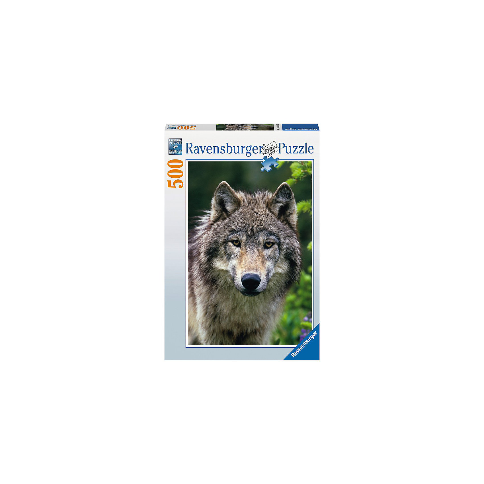 Ravensburger Пазл «Волк» 500 деталей, Ravensburger ravensburger пазл волк 500 деталей